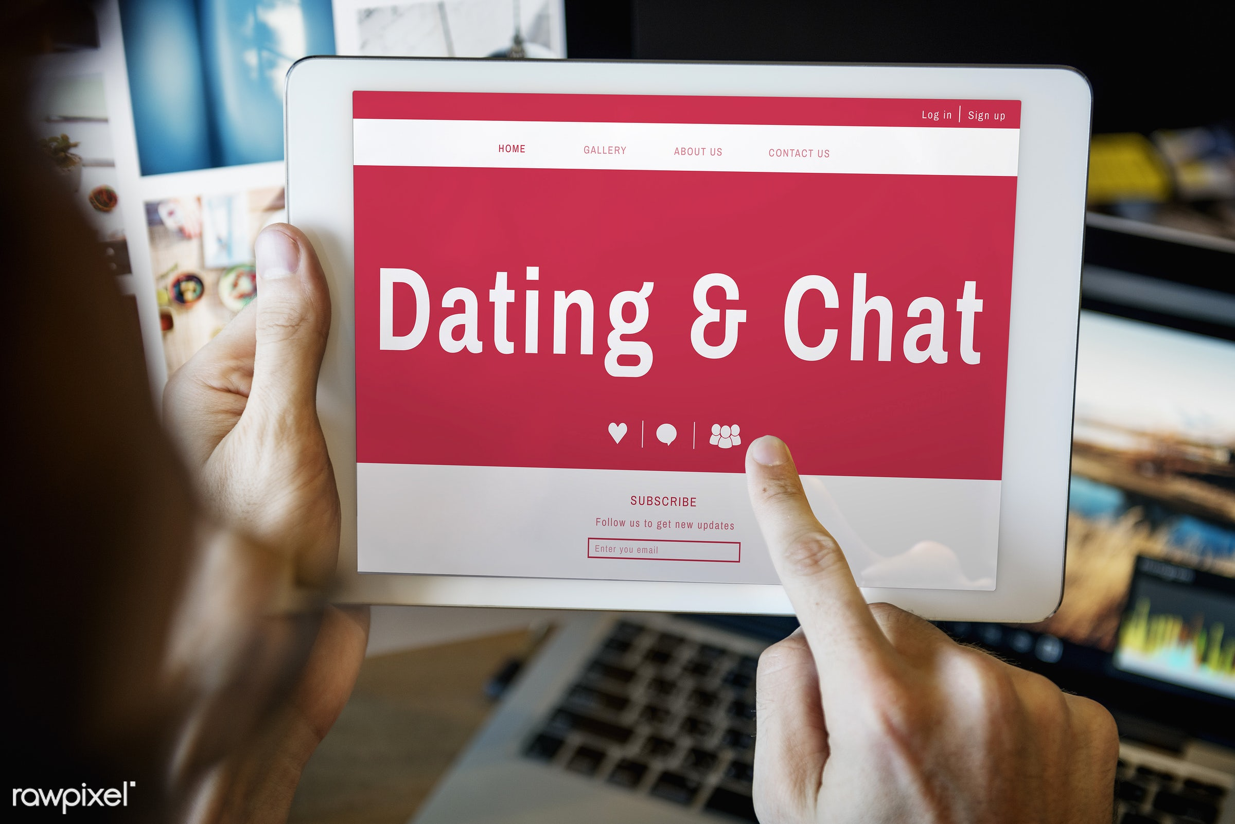 advice, blind date, browsing, chat, connect, connection, creative occupation, dating, dating chat, dating tips, desk,...