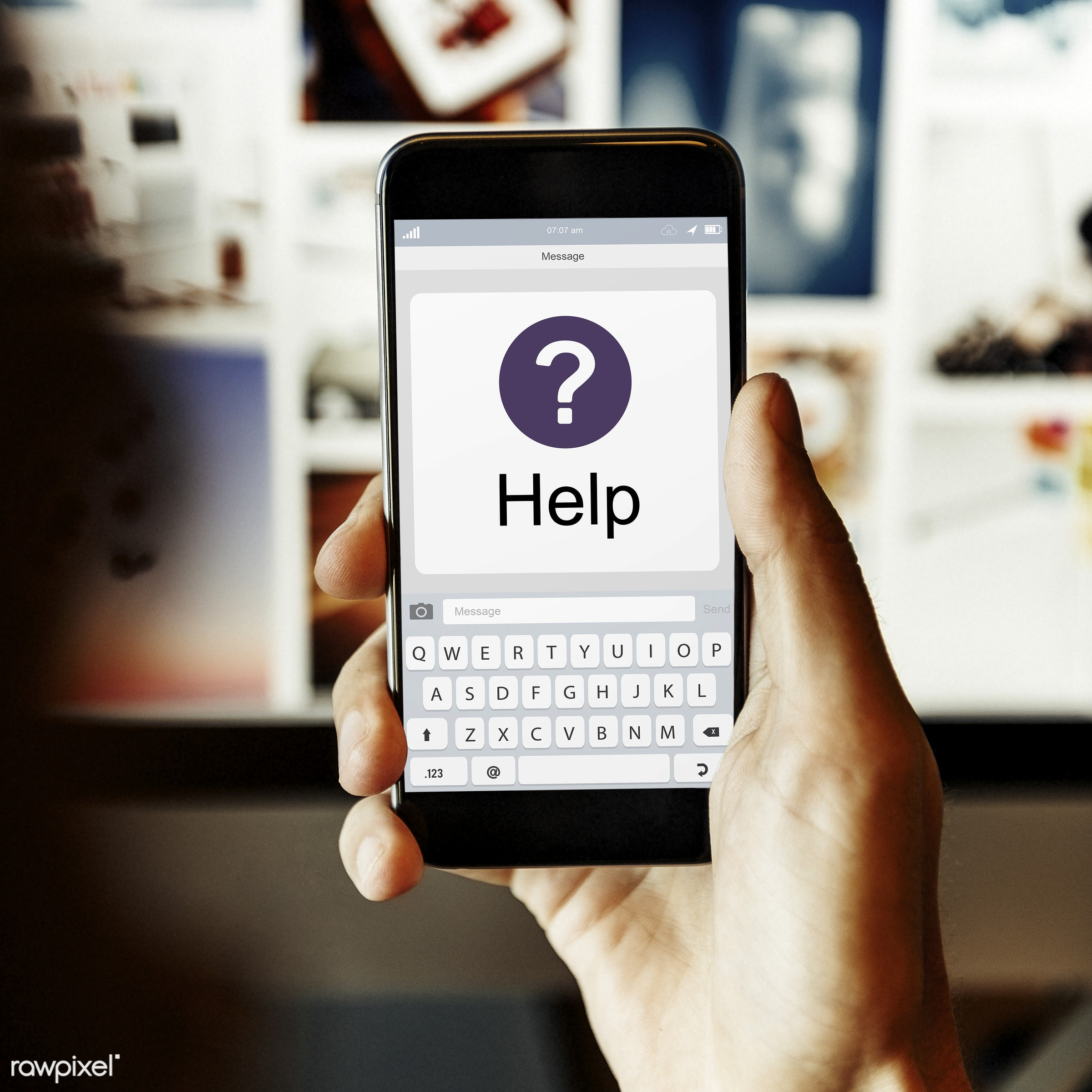 Online help center - answer, ask us, assistance, blog, browsing, call, center, communication, connect, contact, digital...