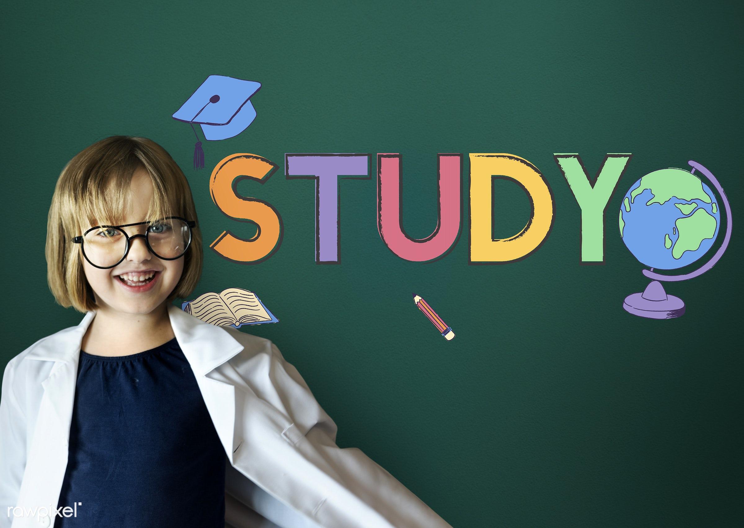 academic, adorable, blackboard, cheerful, child, childhood, class, course, cute, dream job, e-learning, education,...