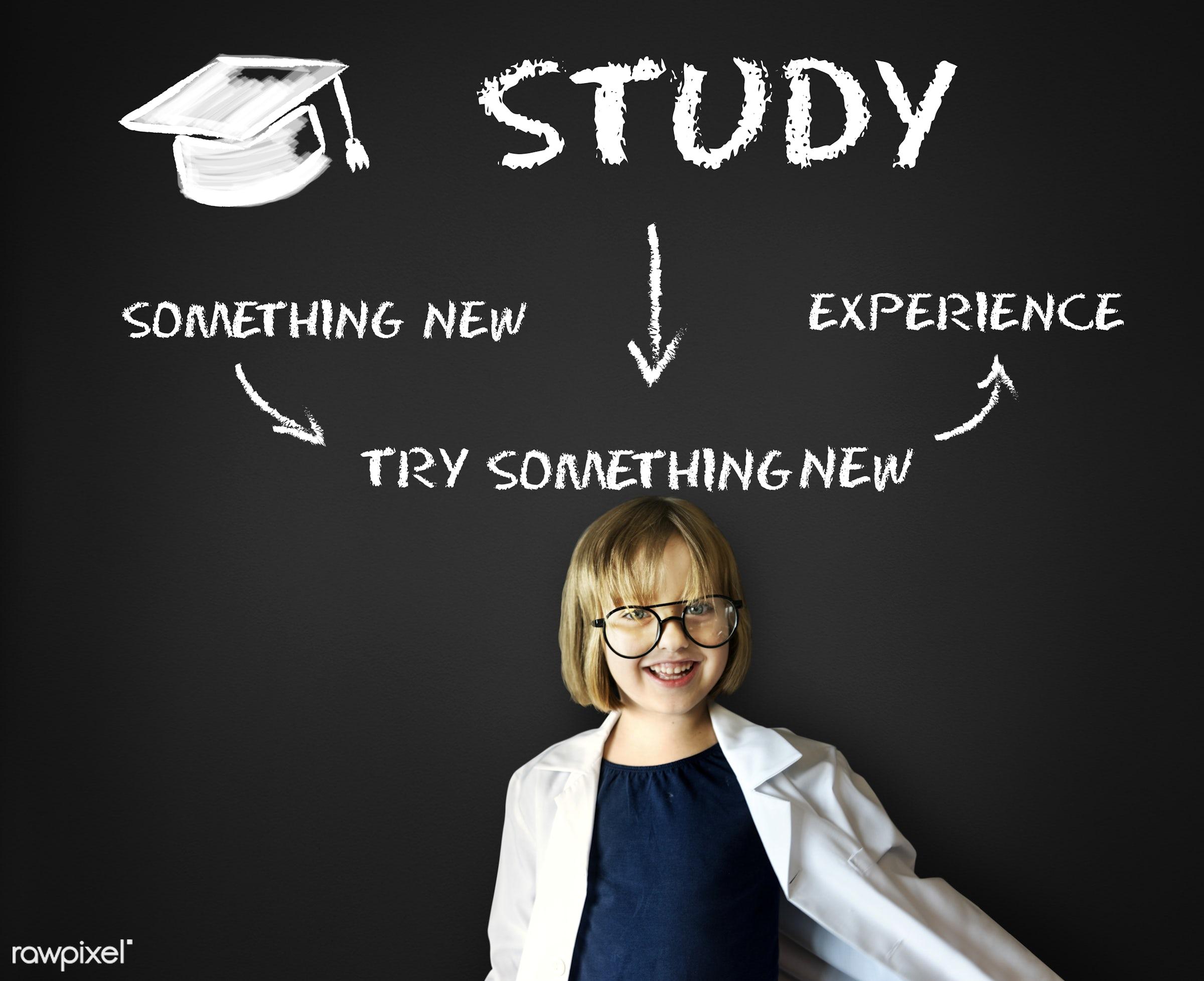 academic, adorable, blackboard, cheerful, child, childhood, cute, dream job, education, elementary age, experience, explore...