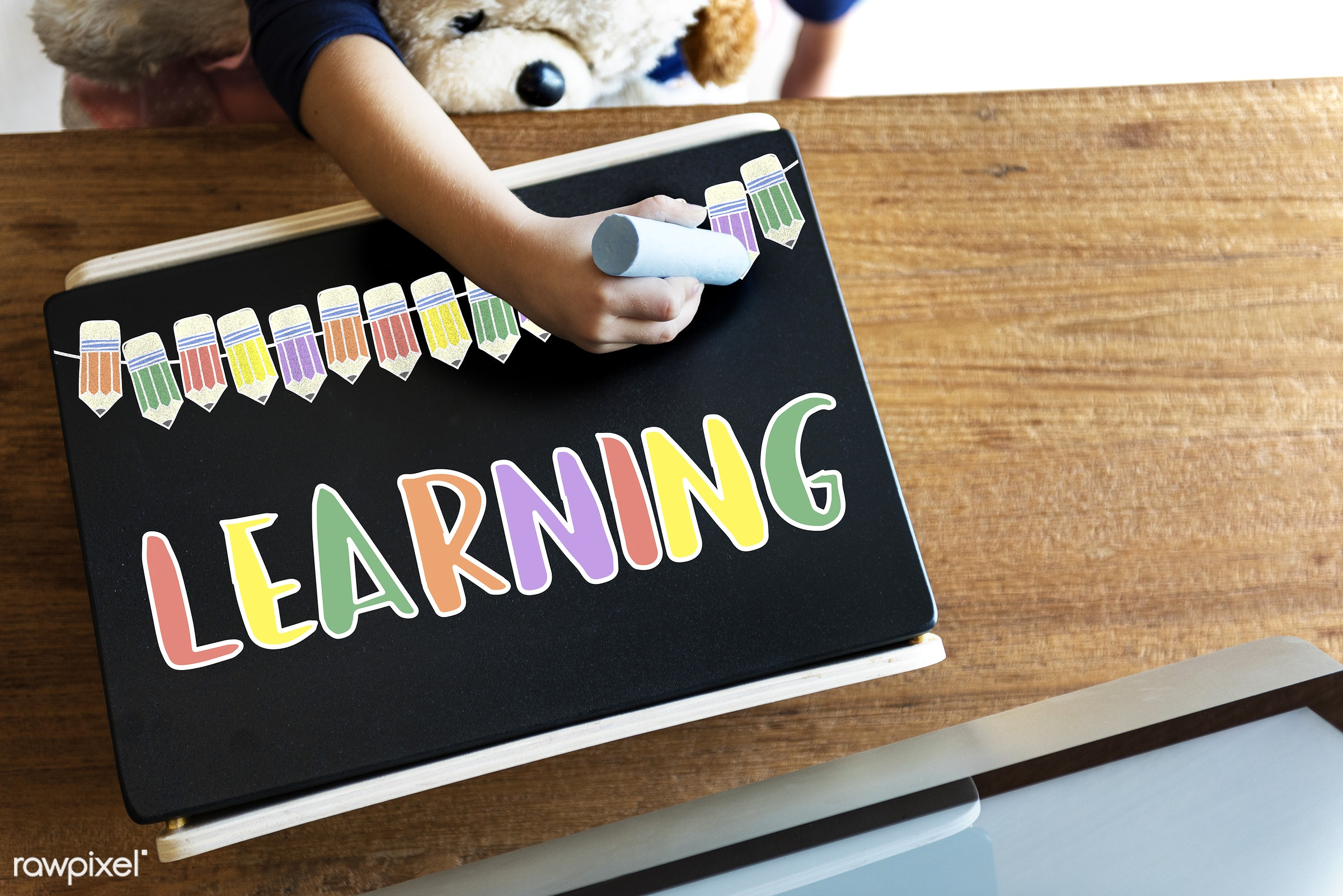 Learning - academics, aerial view, childhood, college, colorful, computer, creative, creativity, drawing, education,...