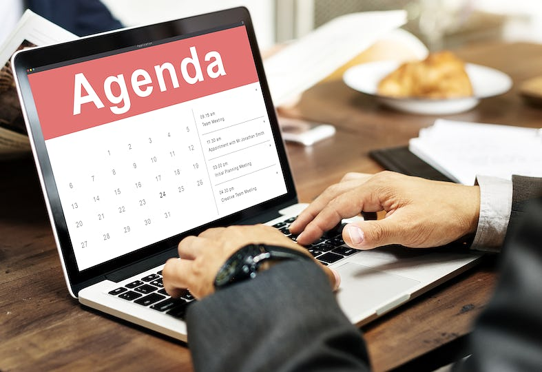 Appointment Schedule Calendar Event Meeting Concept