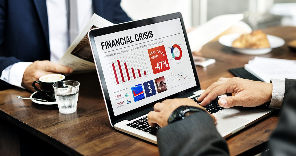 Business Finance Crisis Graphic Data Concept