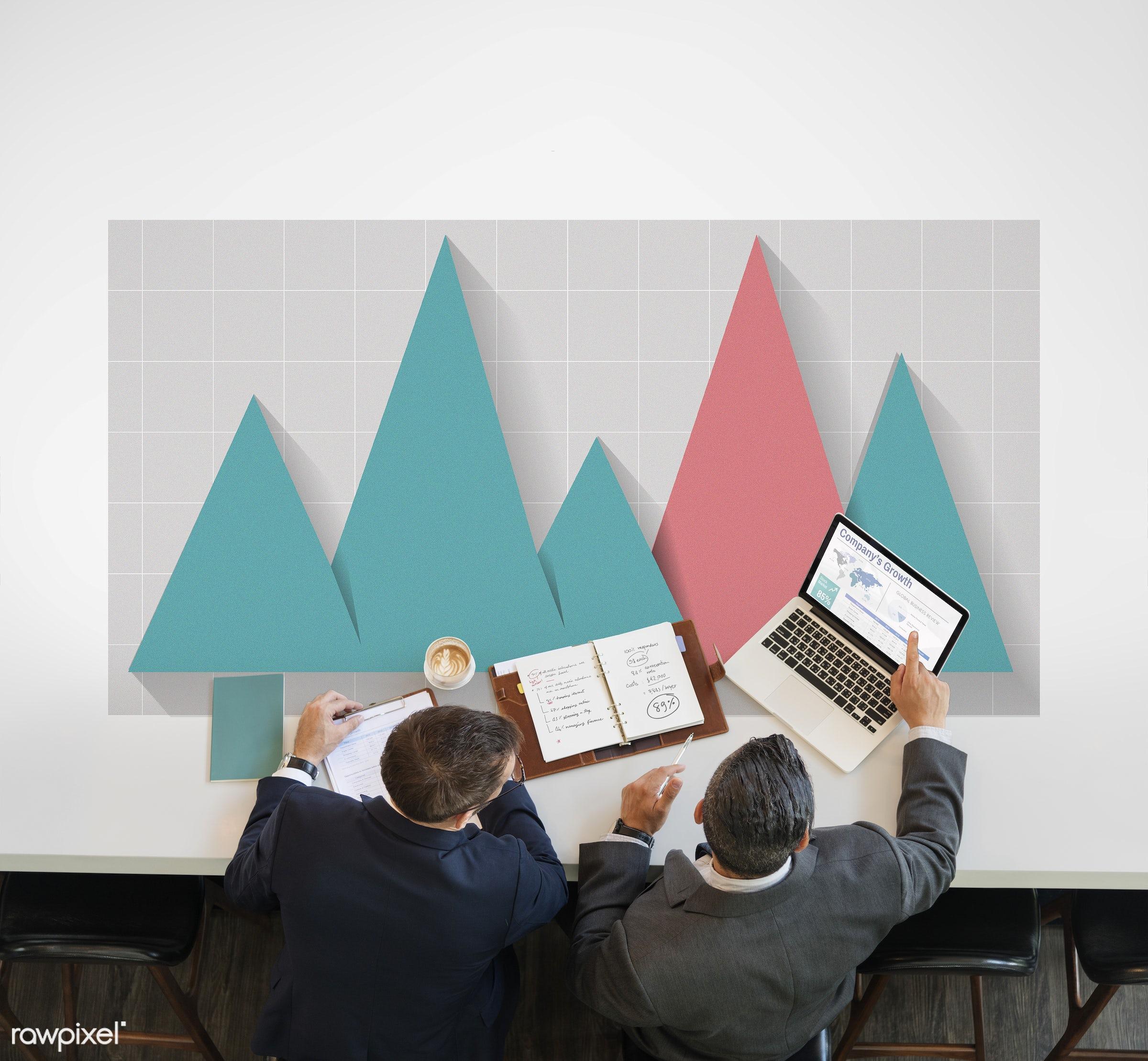 Business statistics - analysis, business, businessman, businessmen, businessperson, chart, daily report, data, data analysis...