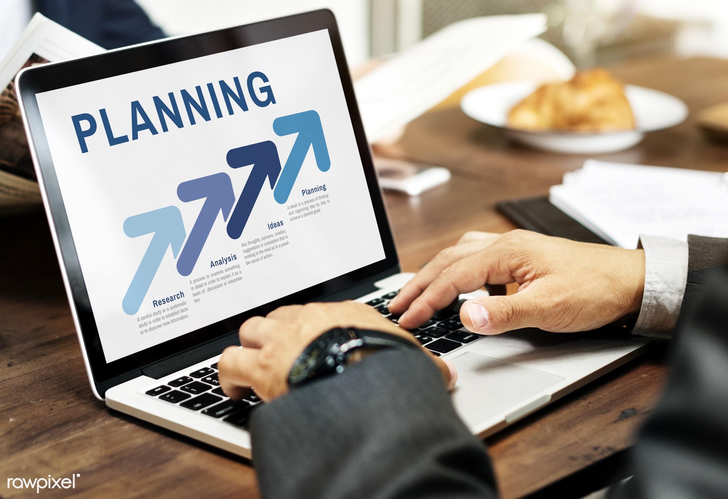 aim, analysing, analysis, arrow up, branding, browse, business, businessman, cafe, corporate, device, digital device,...