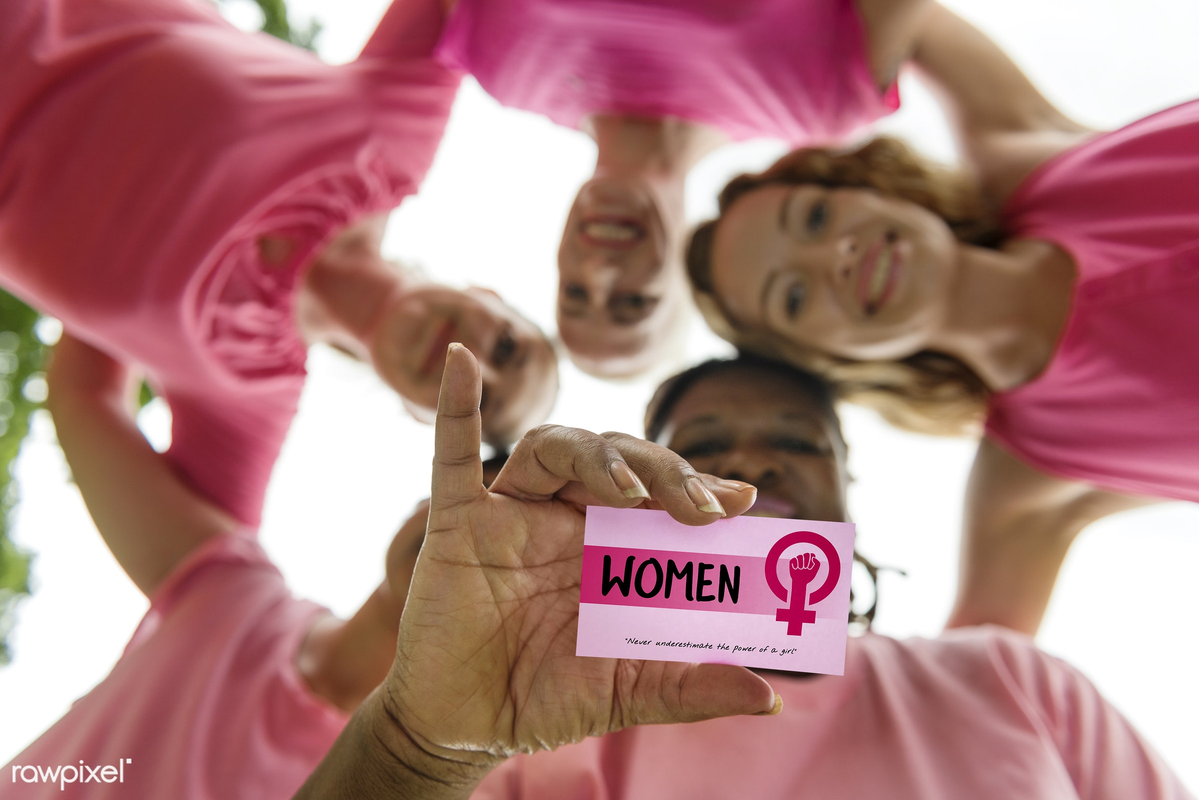 Women support group - card, adult, be yourself, celebration, confidence, diversity, equal opportunity, equality, female,...