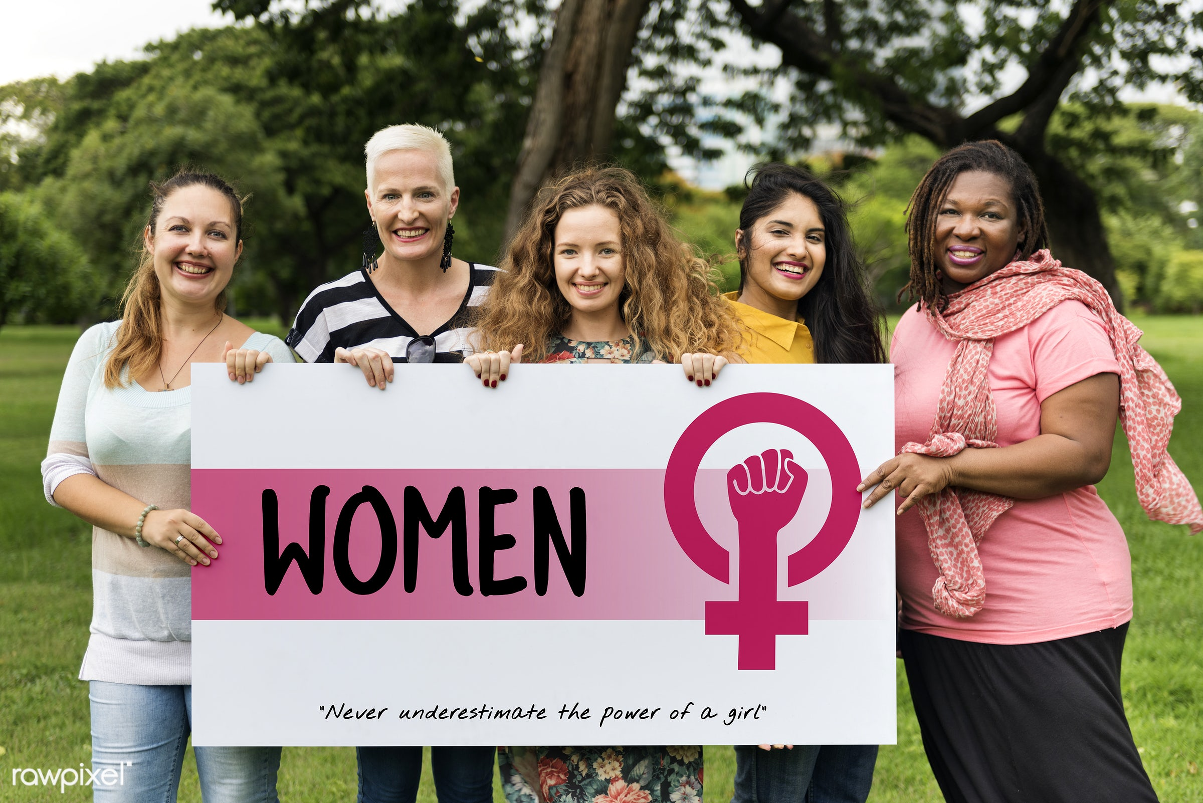 Women support group - adult, be yourself, card, celebration, confidence, diversity, equal opportunity, equality, female,...