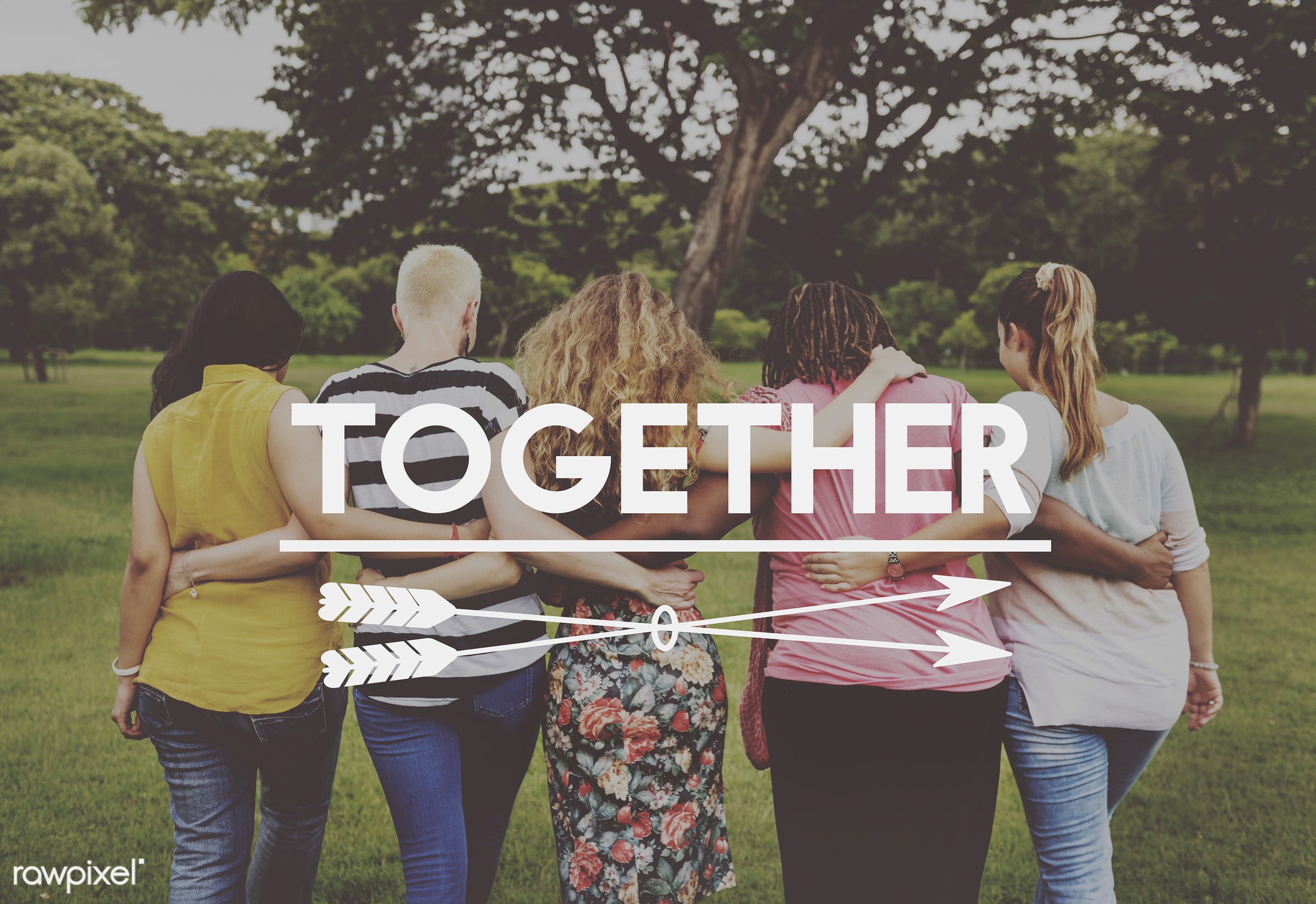 Women support group - adult, african american, air, back, bff, brand, care, caucasian, cheerful, community, cooperation,...