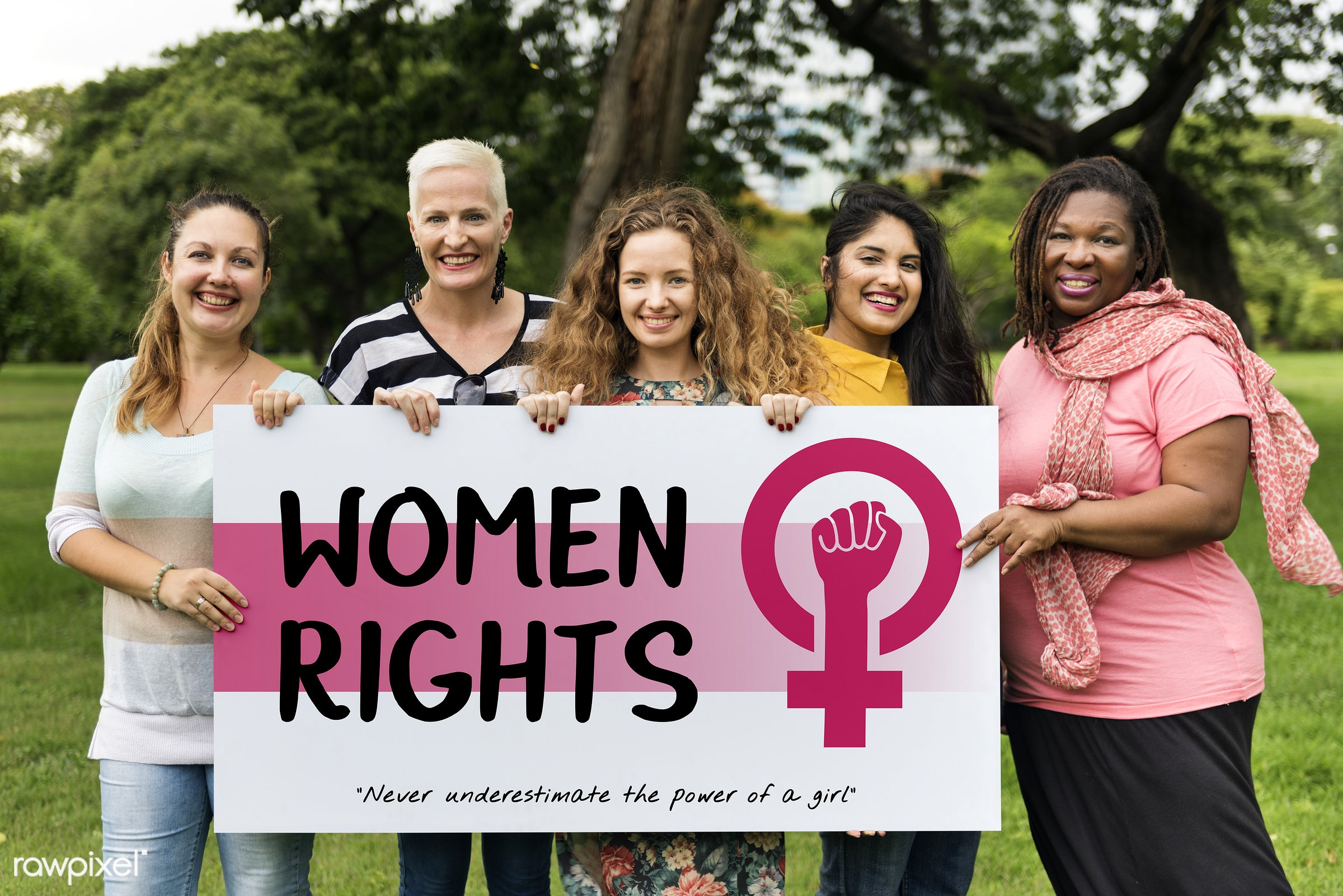 Women rights - equality, adult, be yourself, card, celebration, confidence, diversity, equal opportunity, female, femininity...