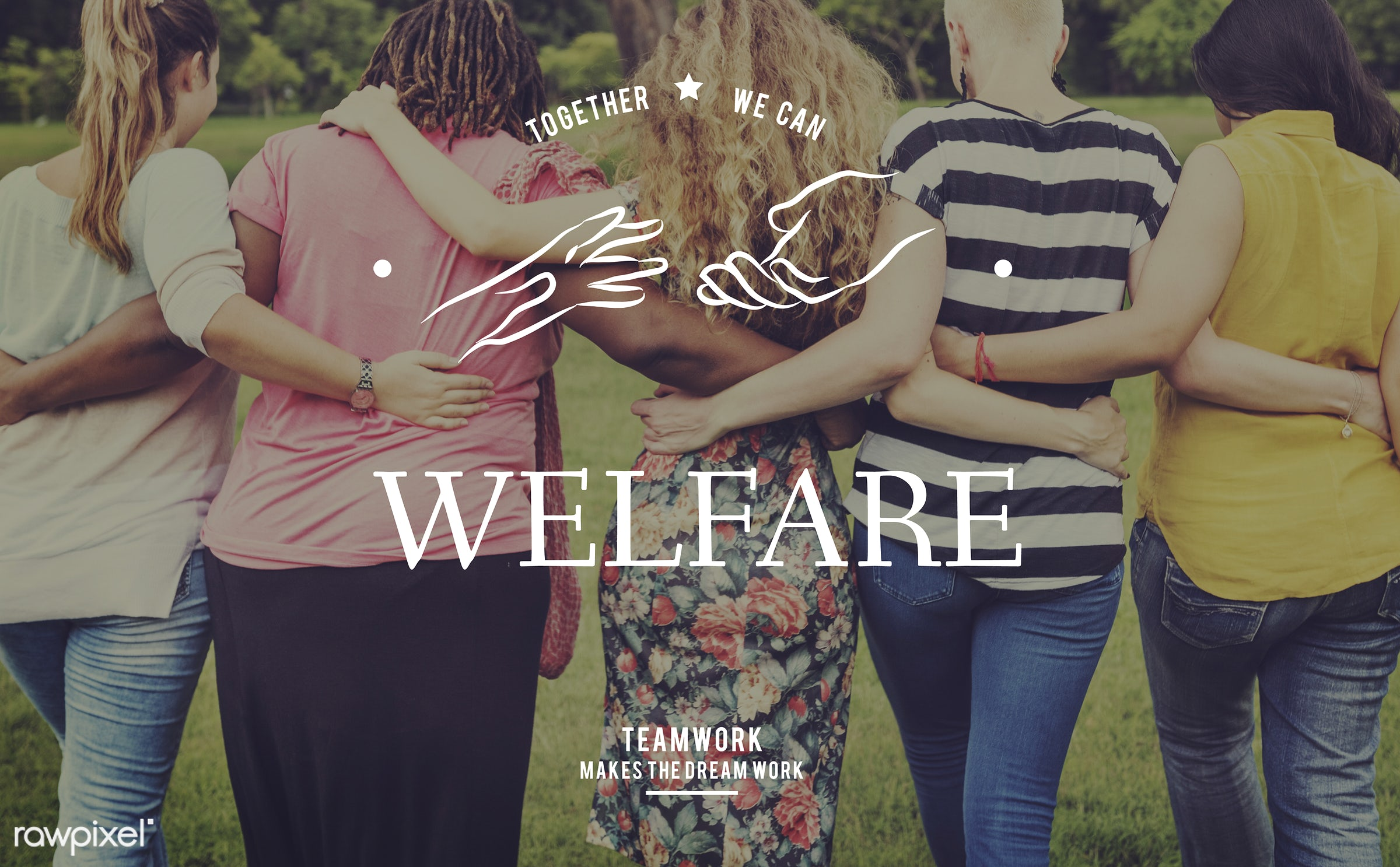 welfare, adult, african american, back, care, cares, caucasian, charity, cheerful, community, community service, cooperation...