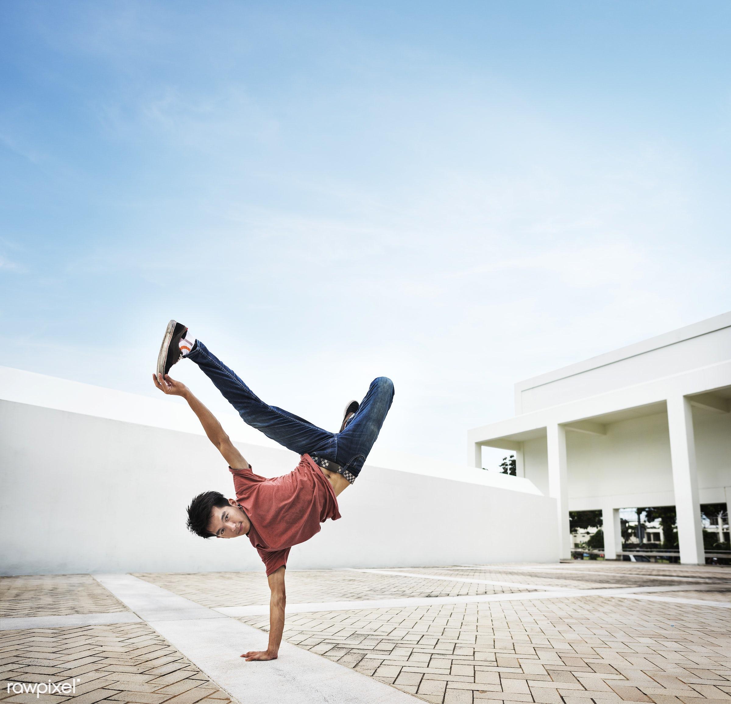 action, asian, attractive, b-boy, boom, boom box, boy, break, break dancer, break dancers, breakdance, breakdancing, cool,...