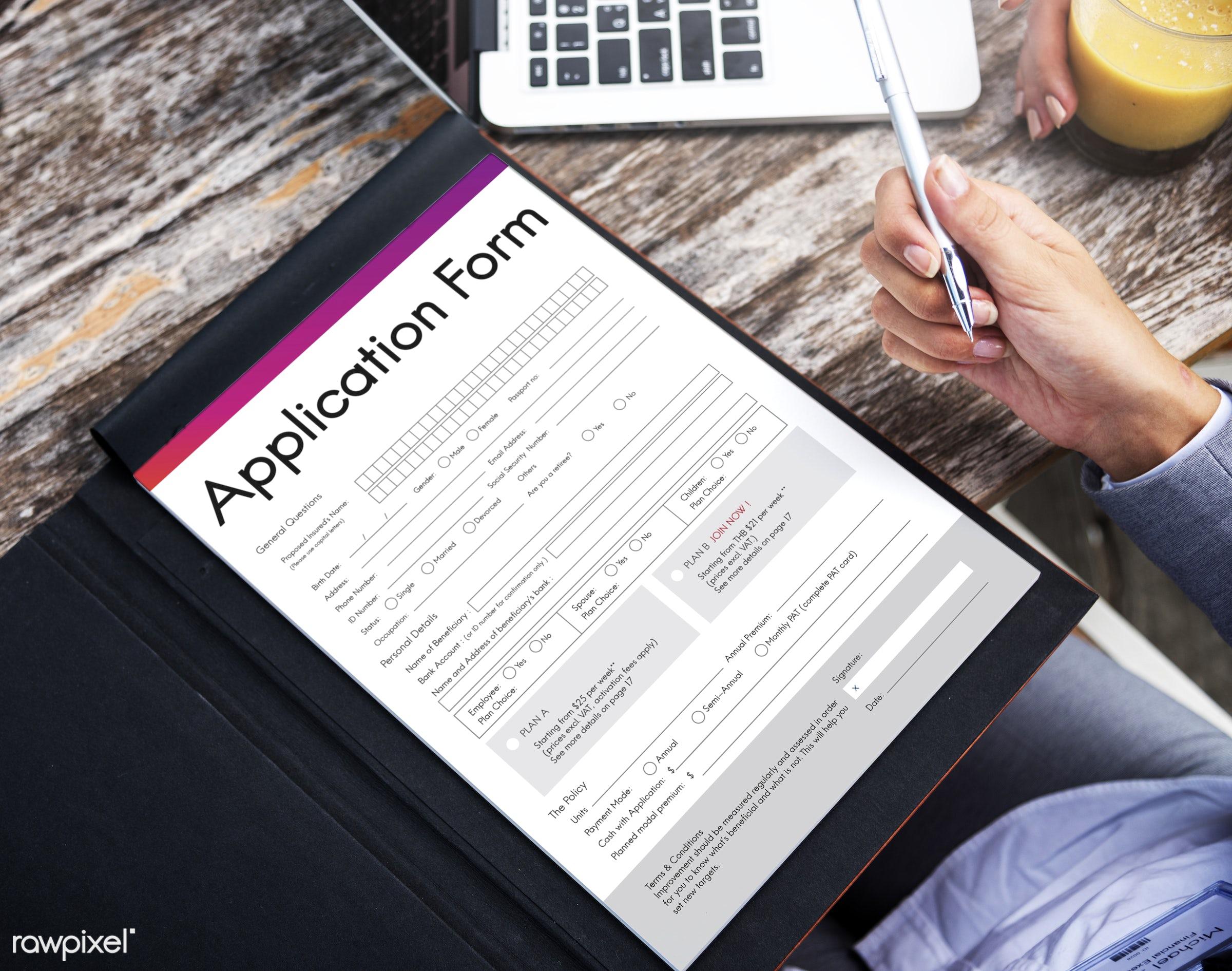 applicant, application, business, businesswoman, businesswomen, data, digital, digital device, document, drink, file, folder...