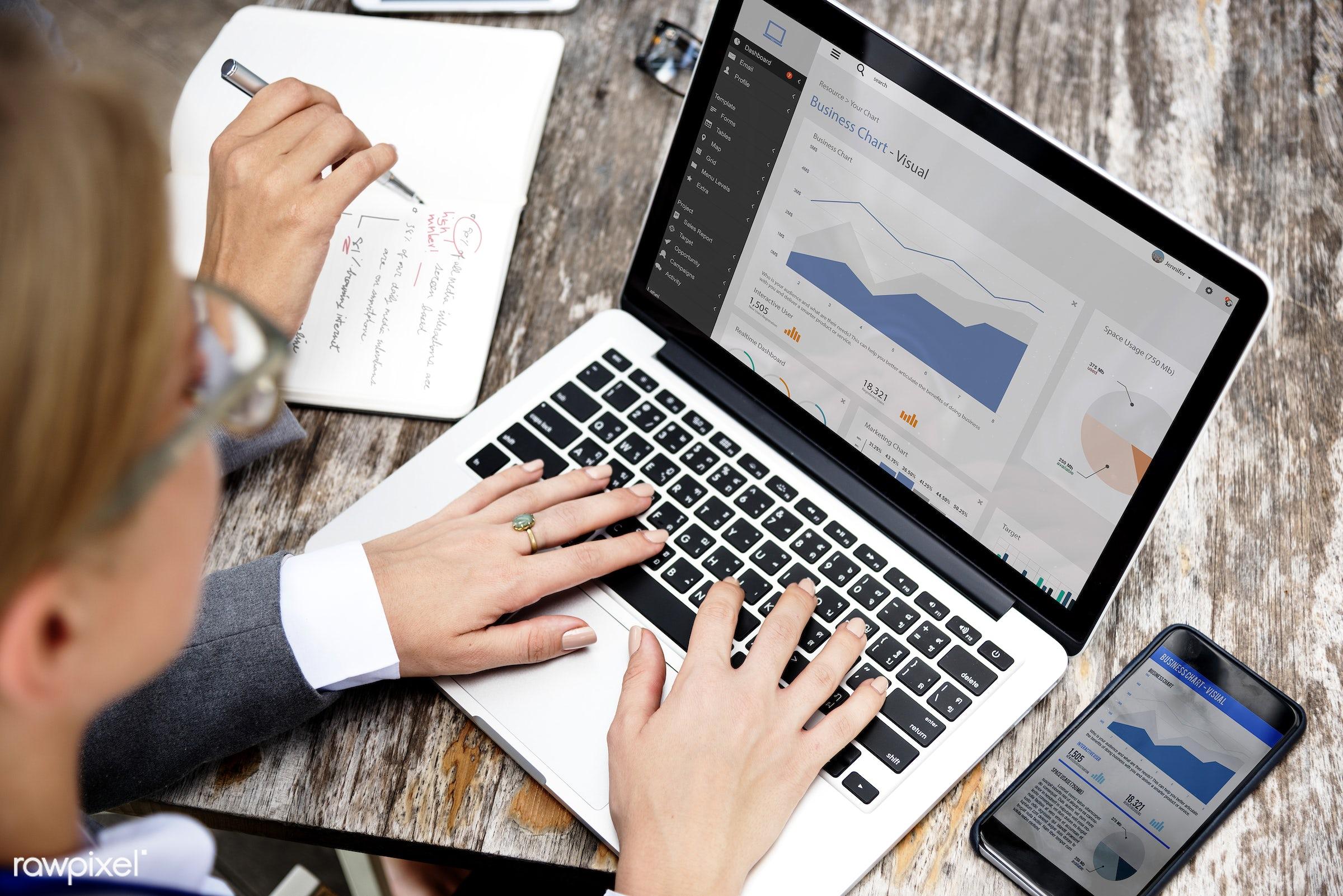 analysis, analytics, analyze, business, businesswoman, businesswomen, data, data analysis, devices, digital, digital device...