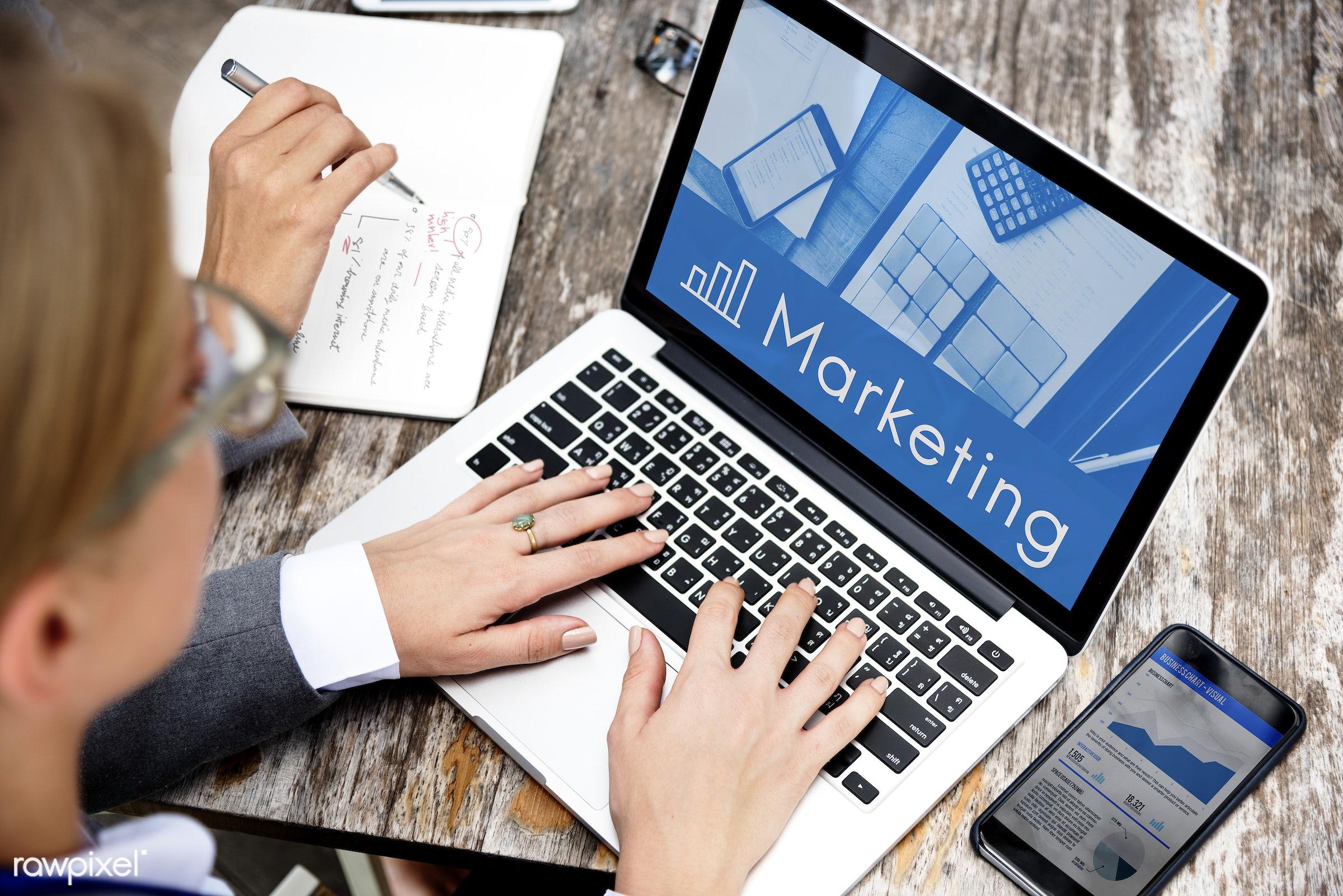 advertise, awareness, business, businesswoman, businesswomen, career, chart, computer, devices, digital, digital device,...