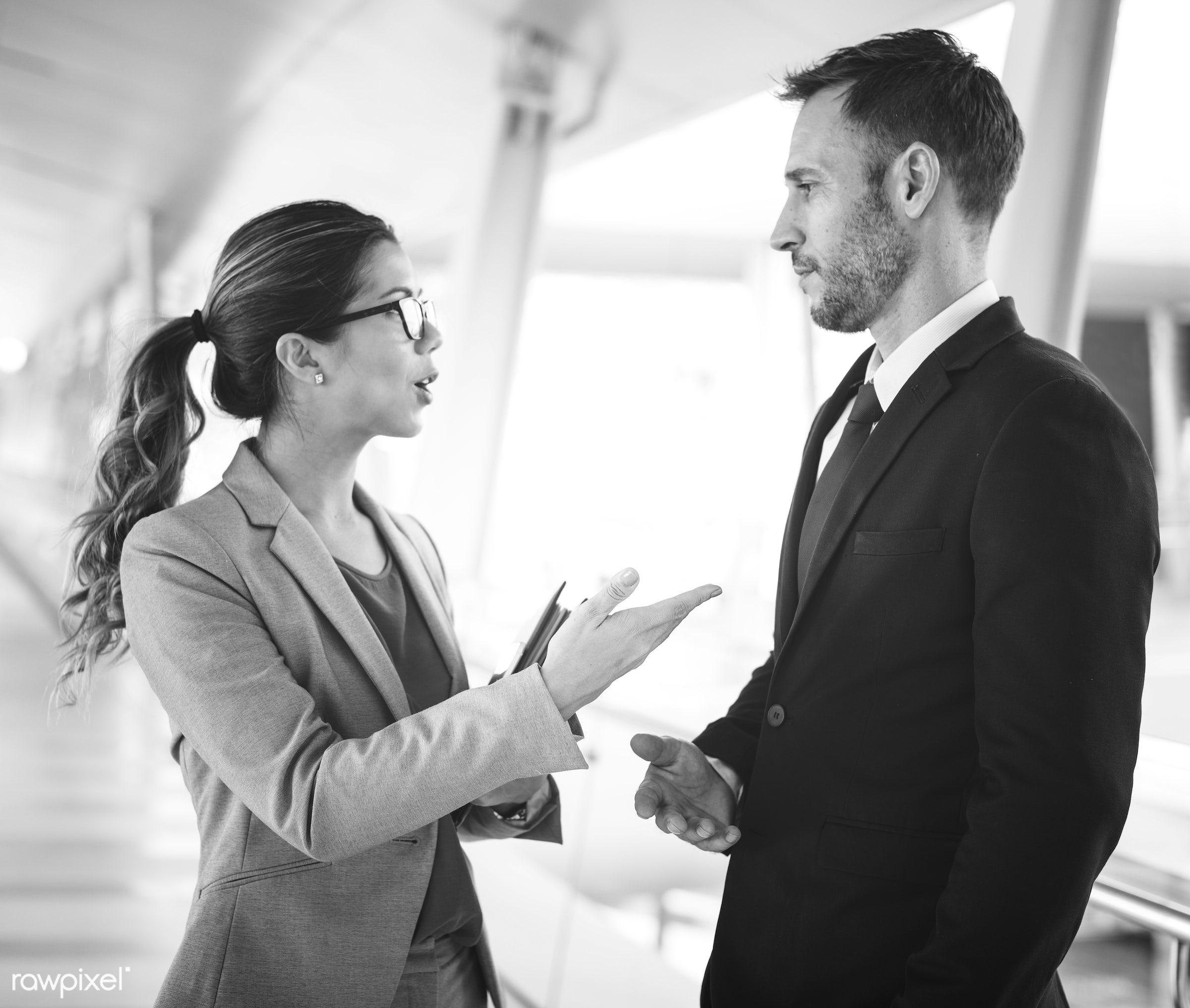 business, talking, meeting, negotiation, planning, organization, businesswoman, businessman, agreement, business people,...