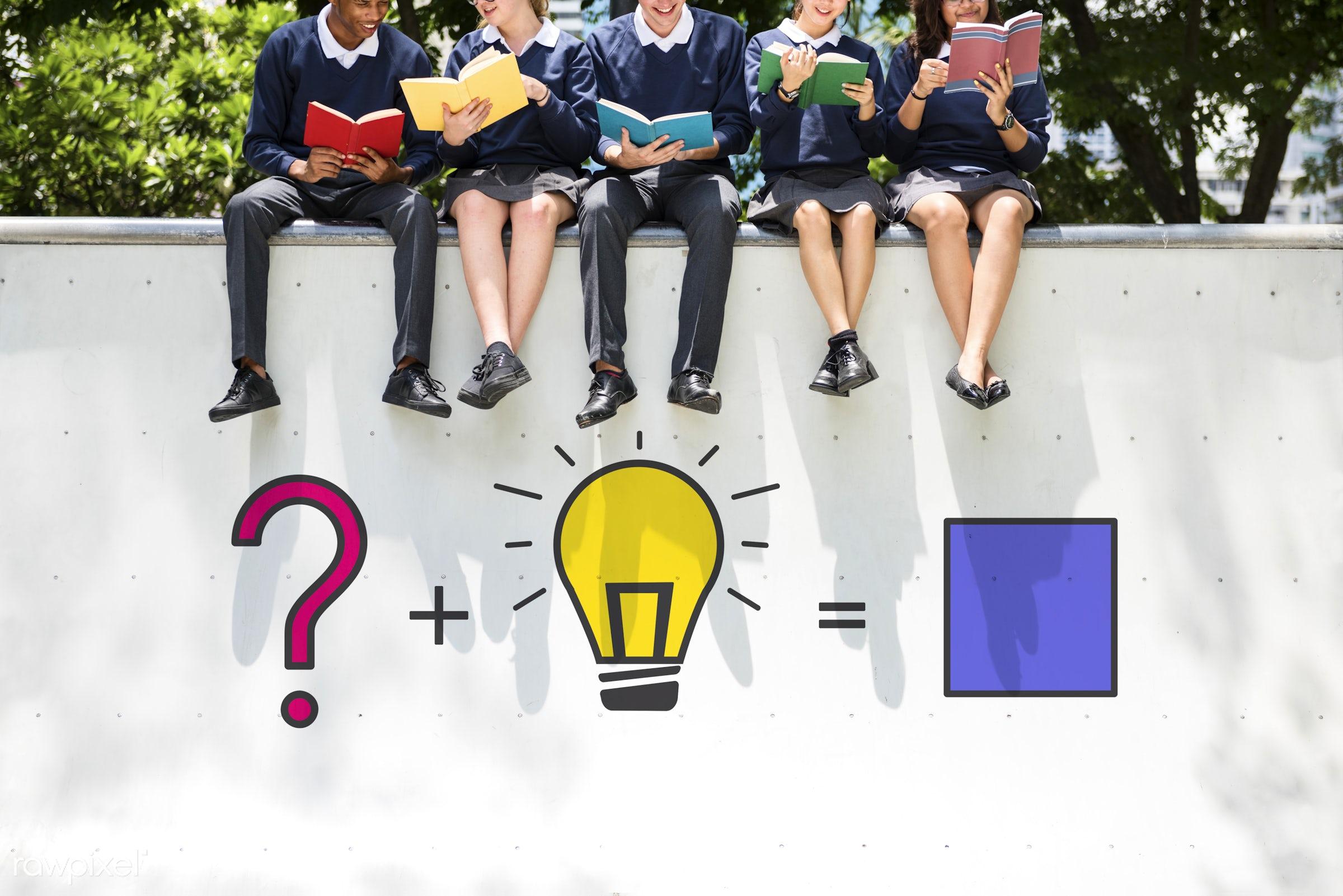 books, brainstorming, business, class, college, company, create, creative, diversity, friends, friendship, generate,...