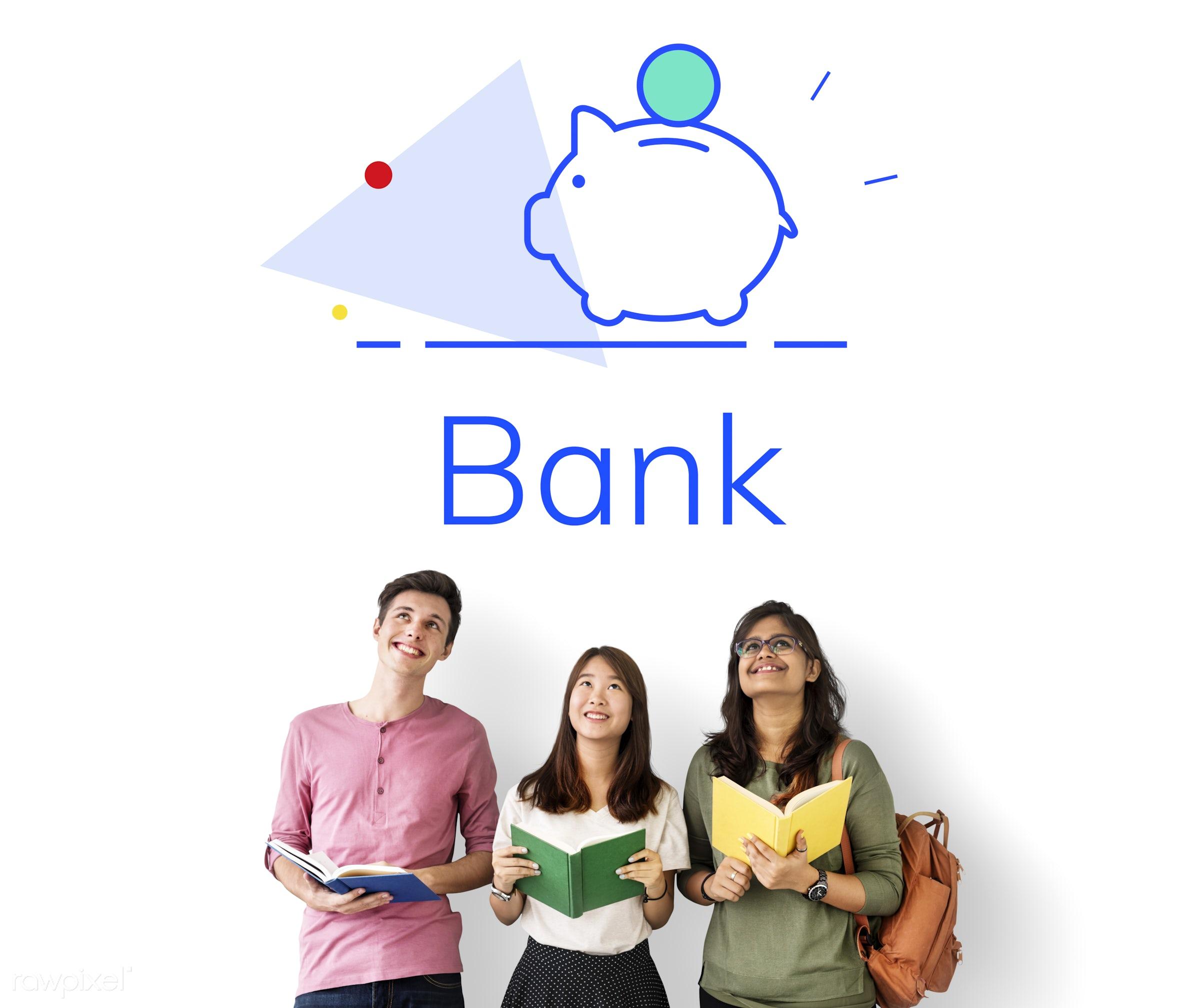 account, african descent, asian, balance, bank, book, caucasian, coins, collect, diversity, earn, earnings, enjoyment,...