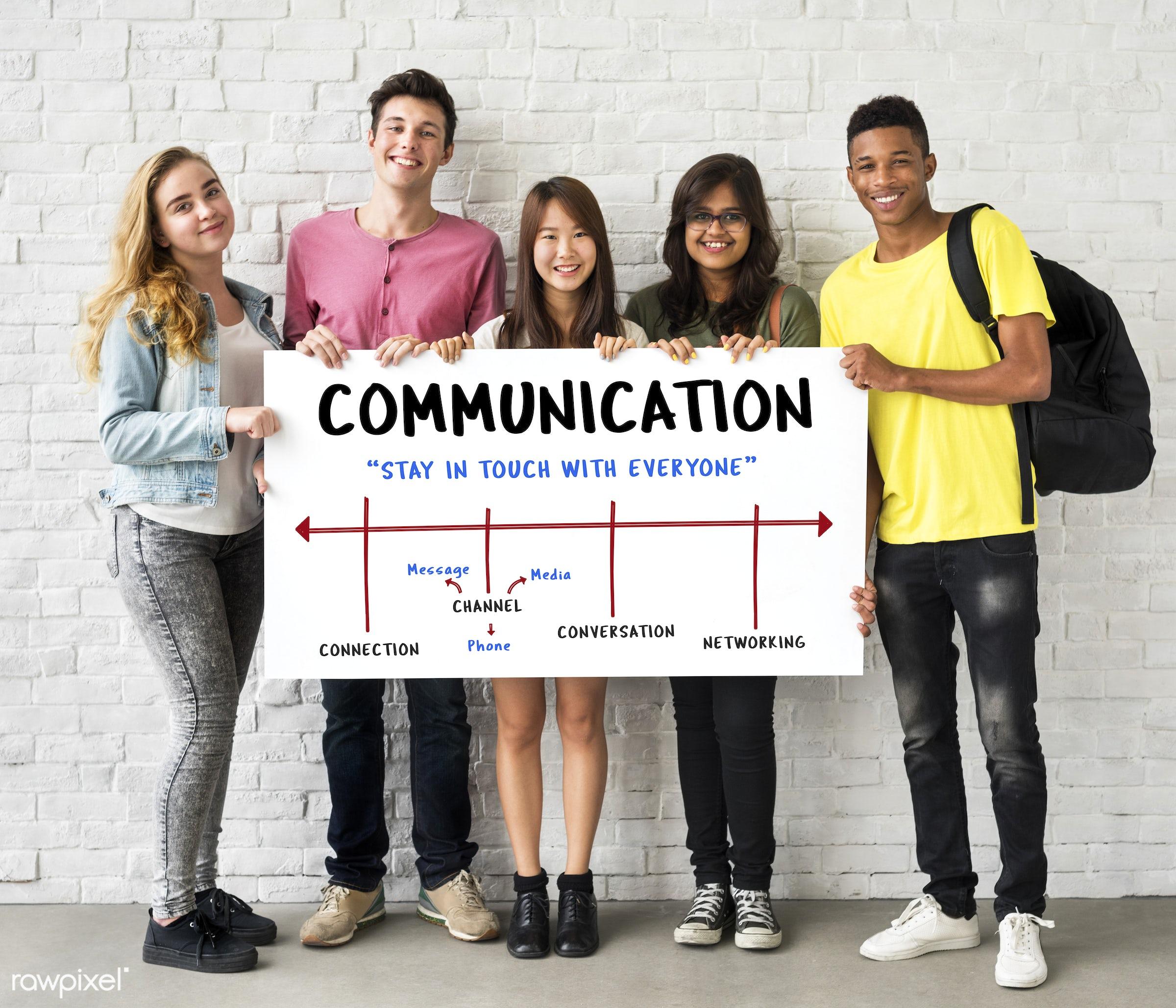african descent, asian, caucasian, channel, chat, communication, connect, connection, conversation, digital, diversity,...