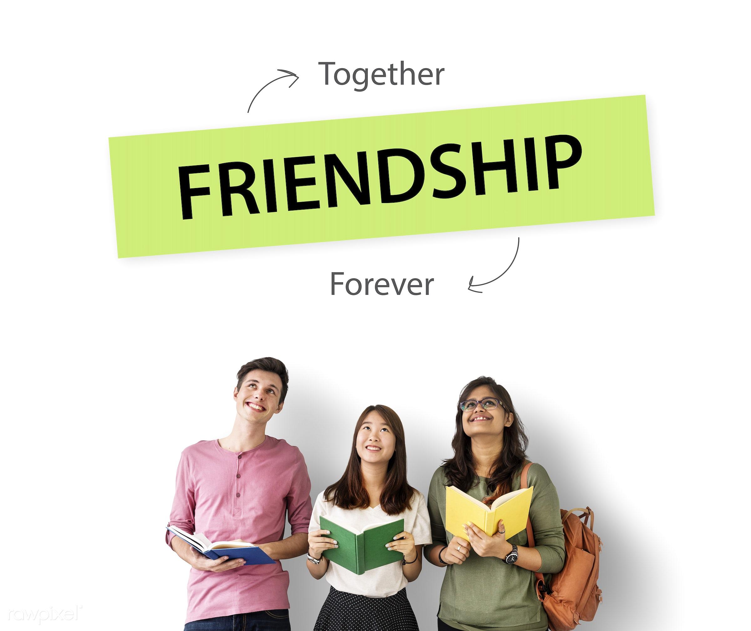 caucasian, african descent, asian, book, care, community, cooperation, diversity, enjoyment, forever, friends, friendship,...