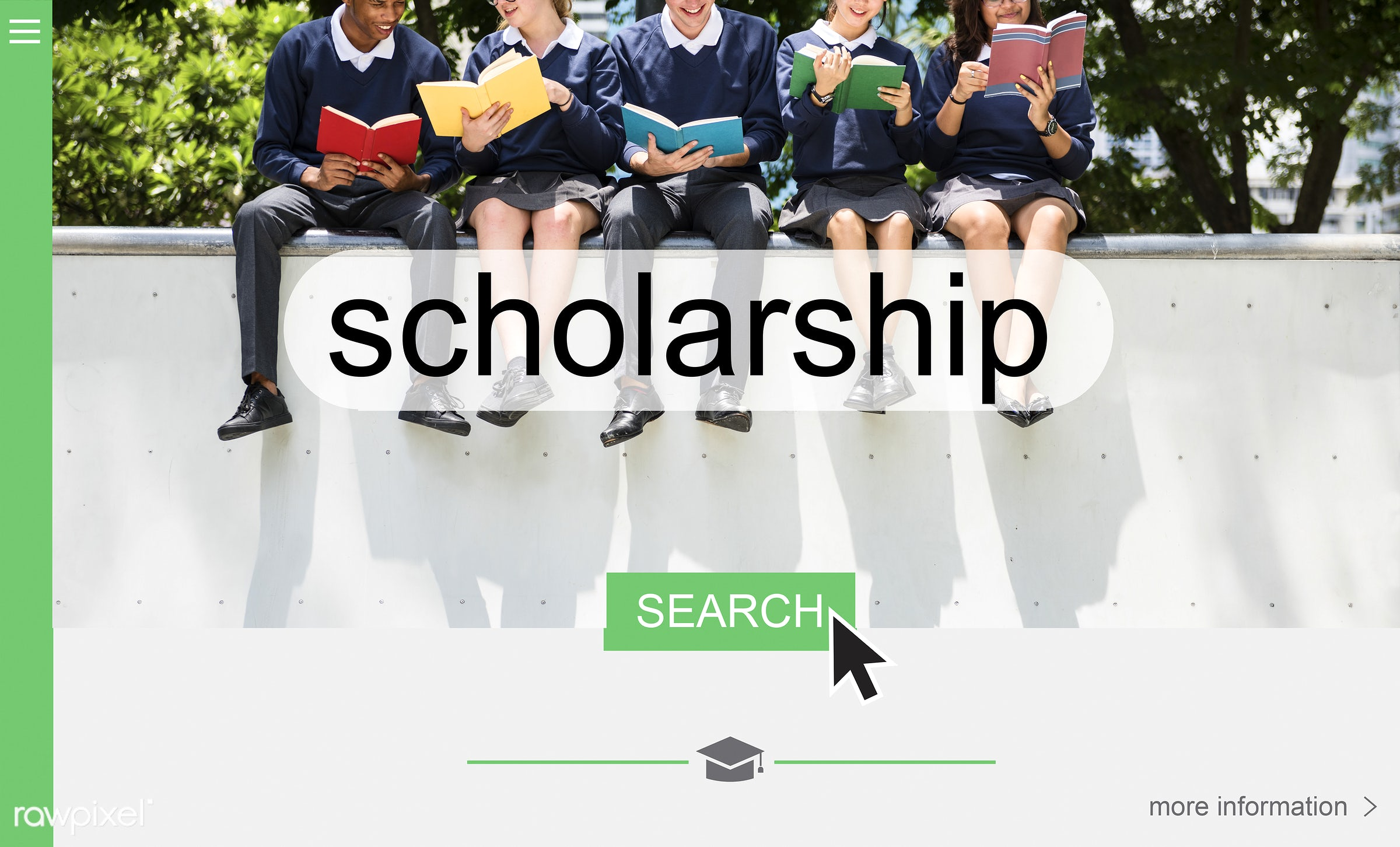 Scholarship application - academic, achievement, award, books, class, college, degree, diversity, education, fees, financial...