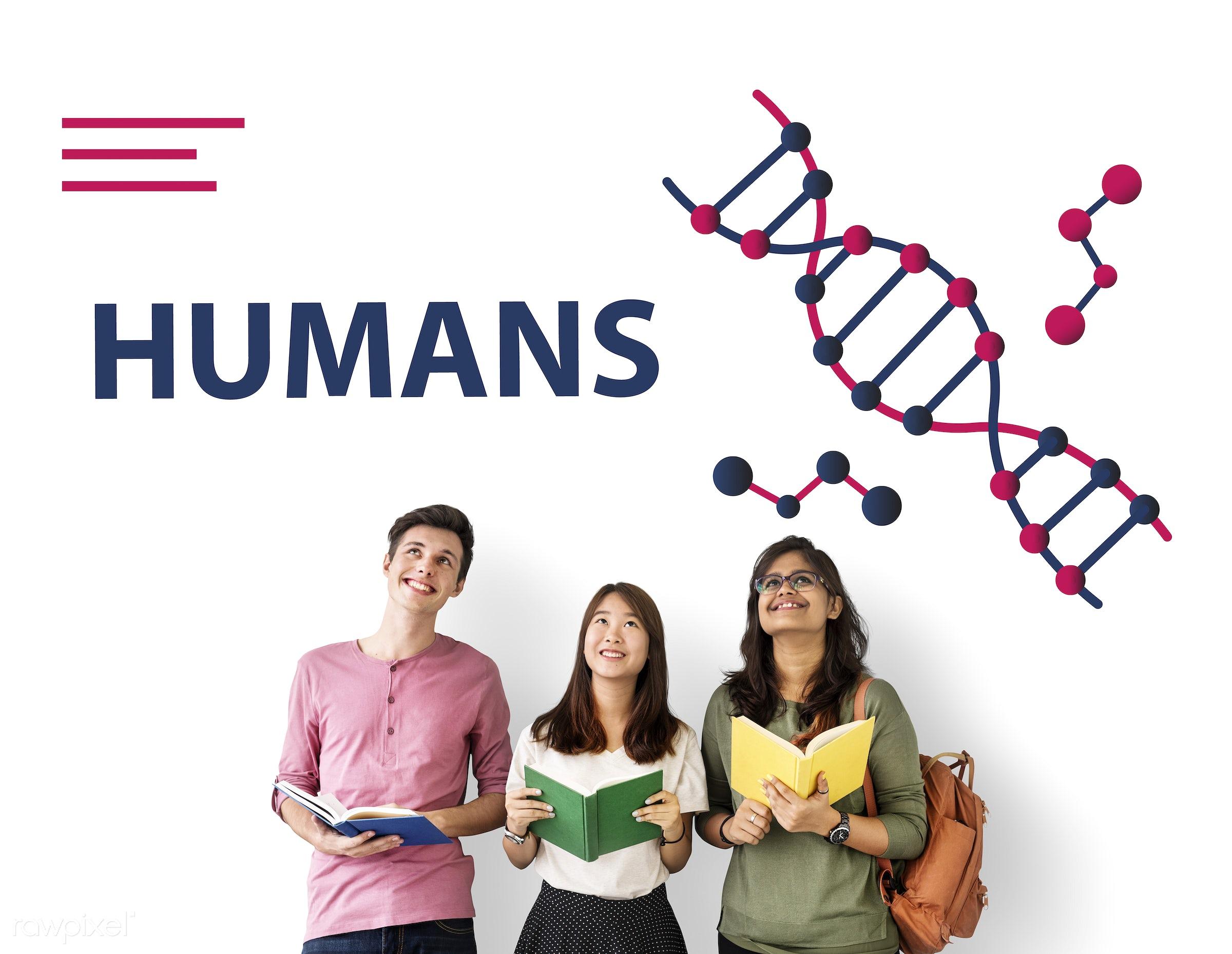 african descent, asian, biochemistry, biotech, book, caucasian, complexity, connection, development, diversity, dna,...