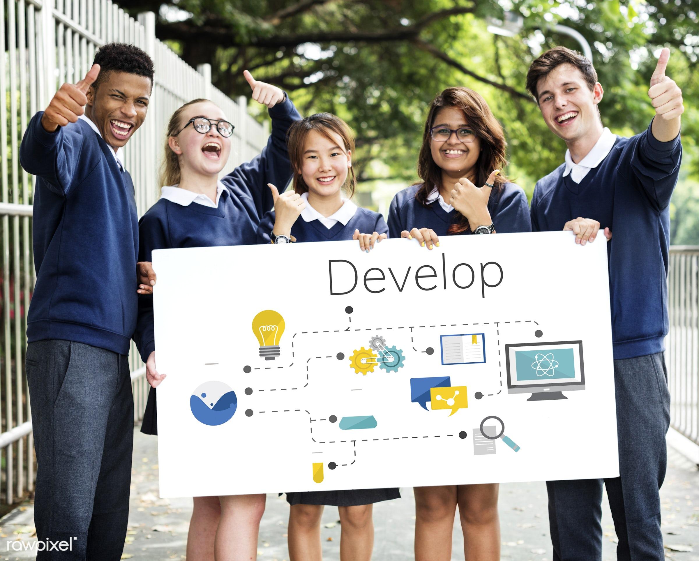 african descent, asian, business, caucasian, cloud, connection, control, creative, data, design, development, digital,...
