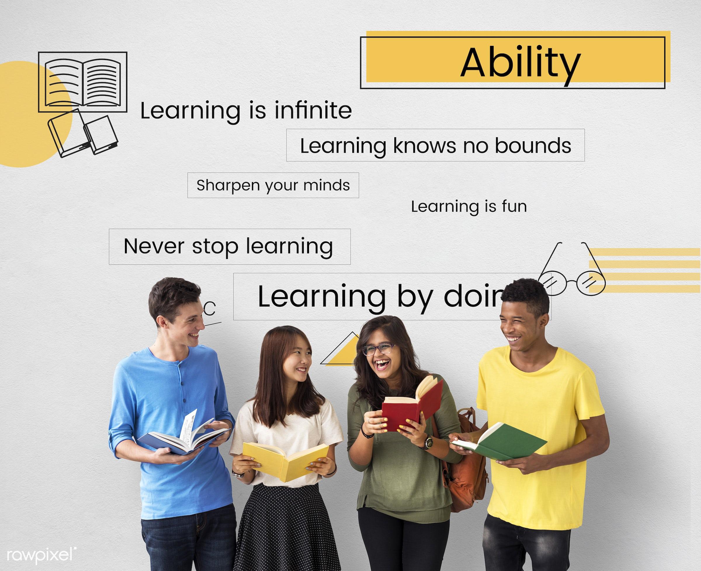 development, ability, academics, african descent, asian, book, caucasian, diversity, e-learning, education, enjoyment,...
