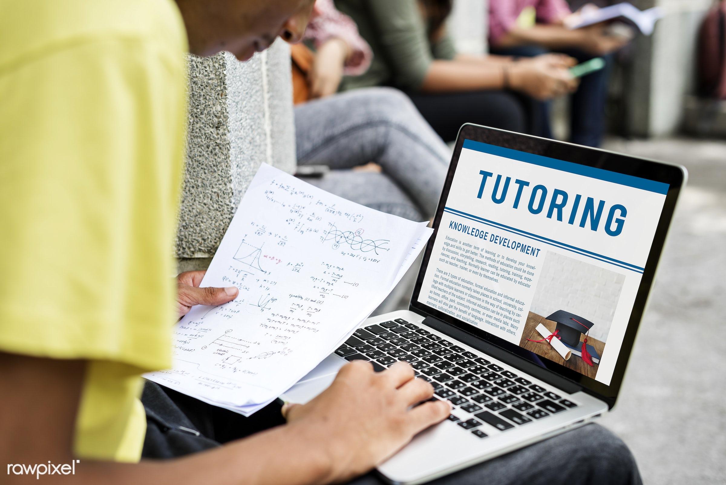 academics, boy, calculation, college, degrees, development, digital device, education, gadget, graduate, graph, guy, holding...