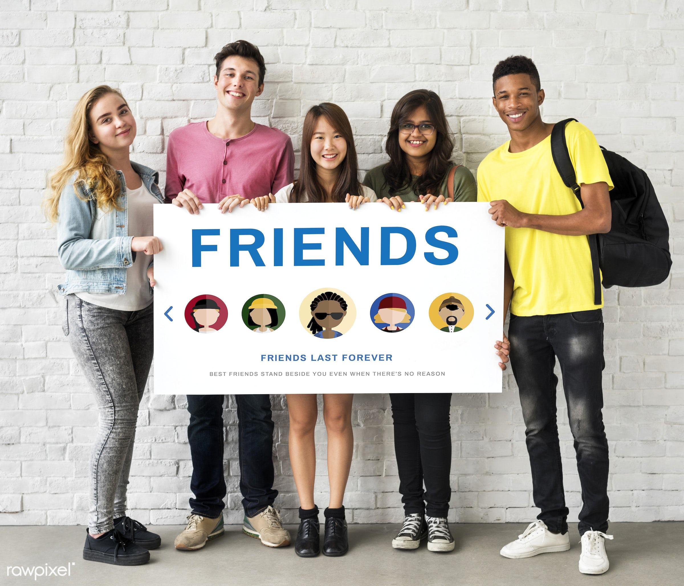 african descent, asian, caucasian, communication, community, connection, cooperation, diversity, enjoyment, forever, friends...