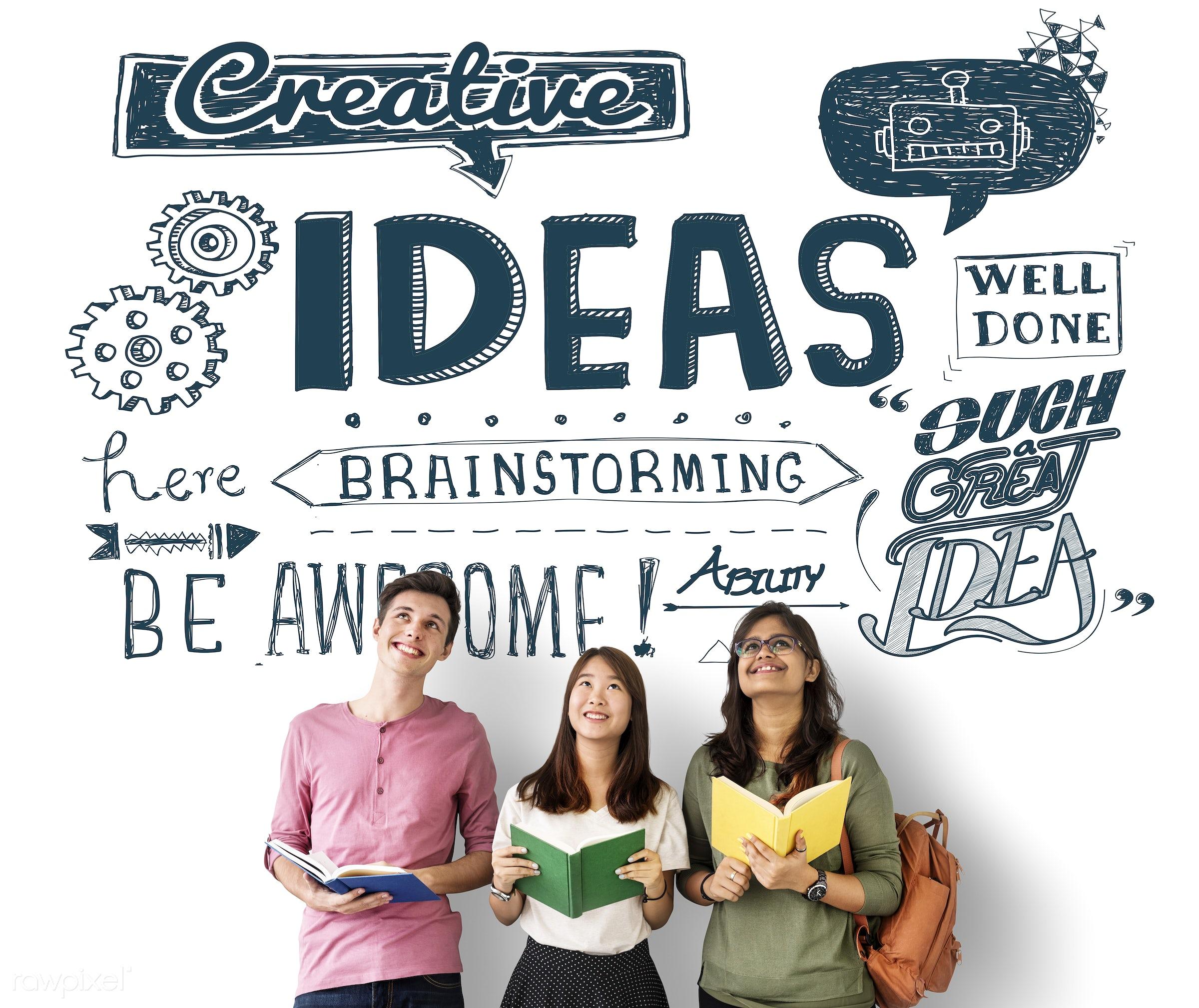 african descent, asian, awesome, book, brainstorming, business, caucasian, creative, creativity, diversity, enjoyment,...
