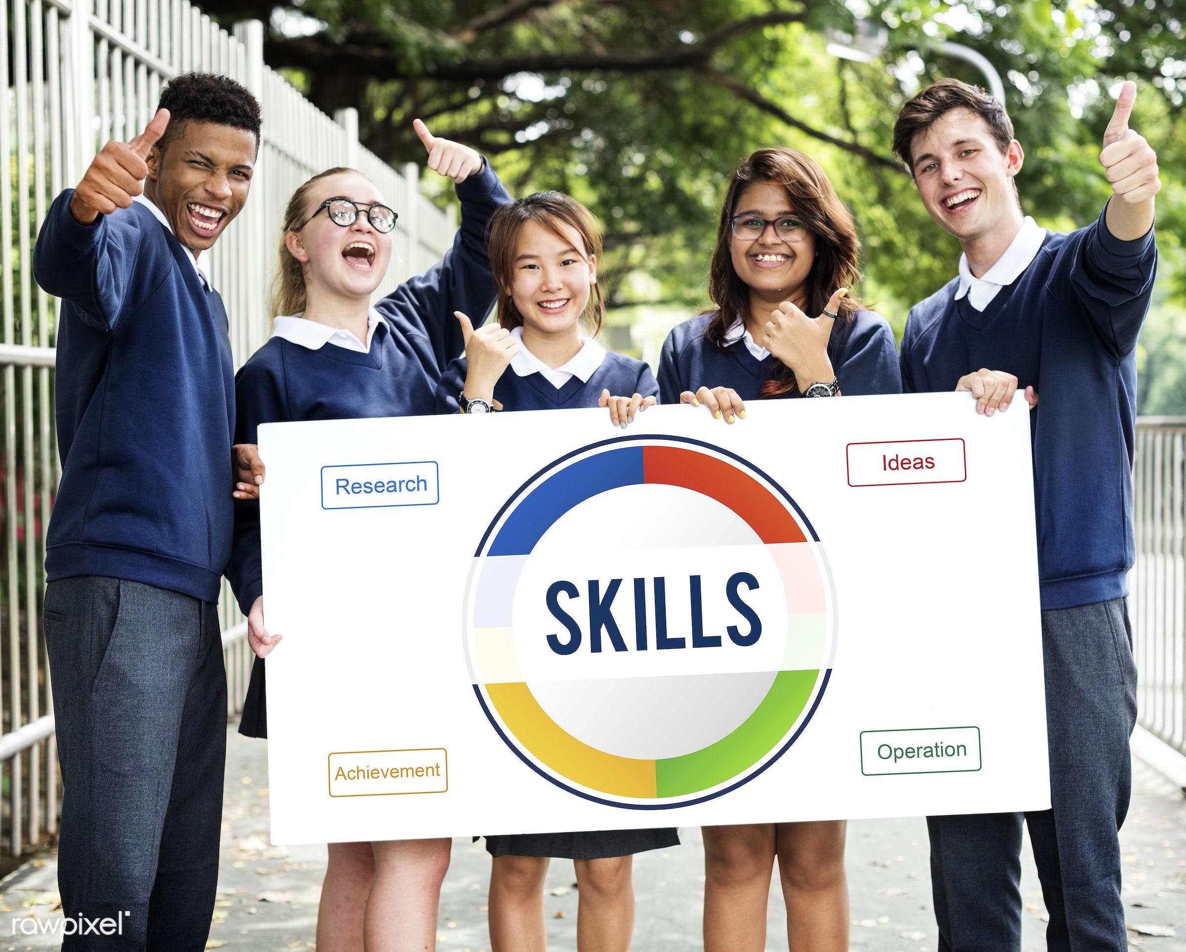 development, ability, achievement, african descent, asian, caucasian, circle, competence, creative, diagram, diversity,...