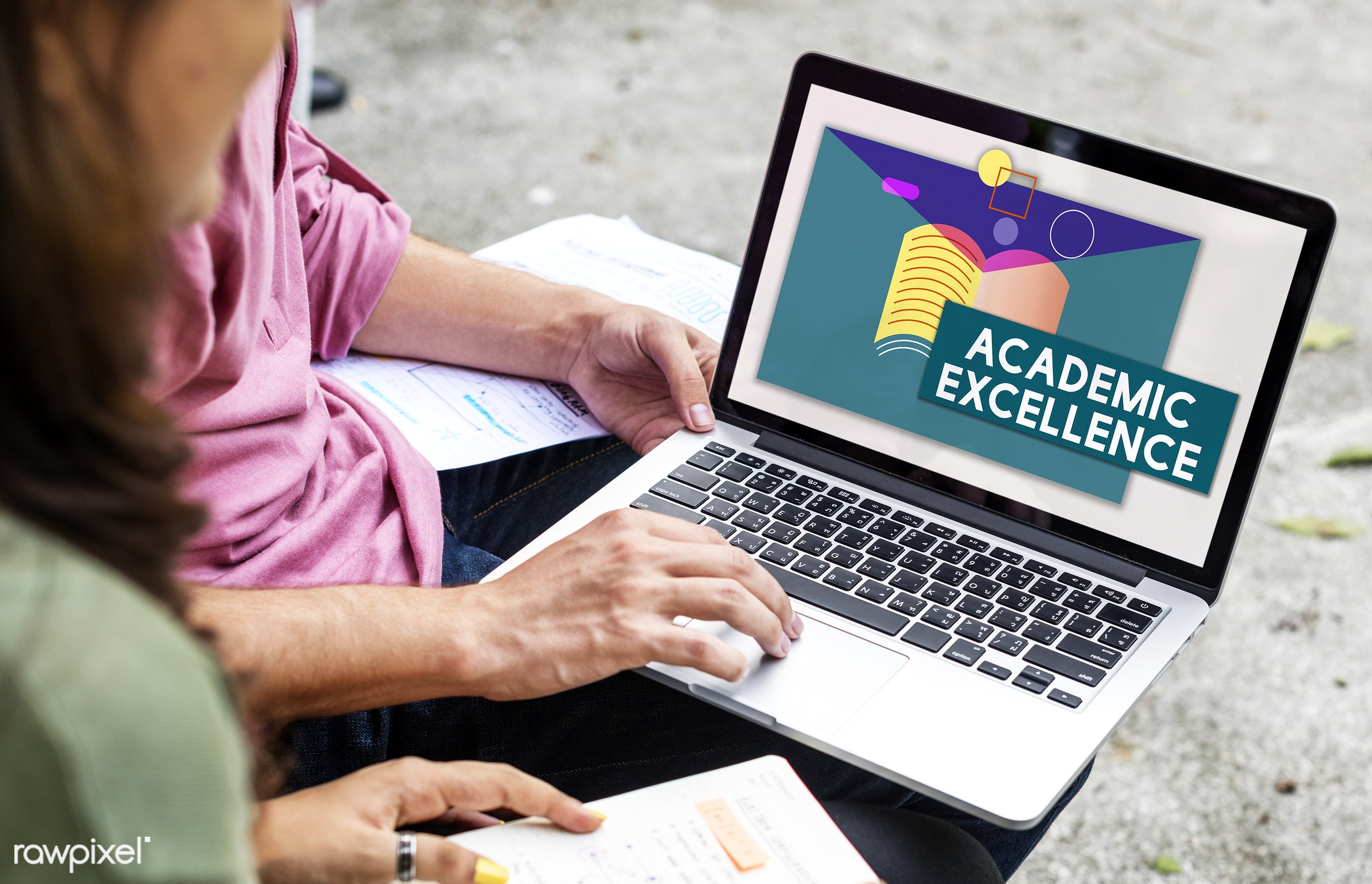 academic excellence, academics, asian, book, browsing, caucasian, devices, diversity, e-learning, education, enjoyment,...