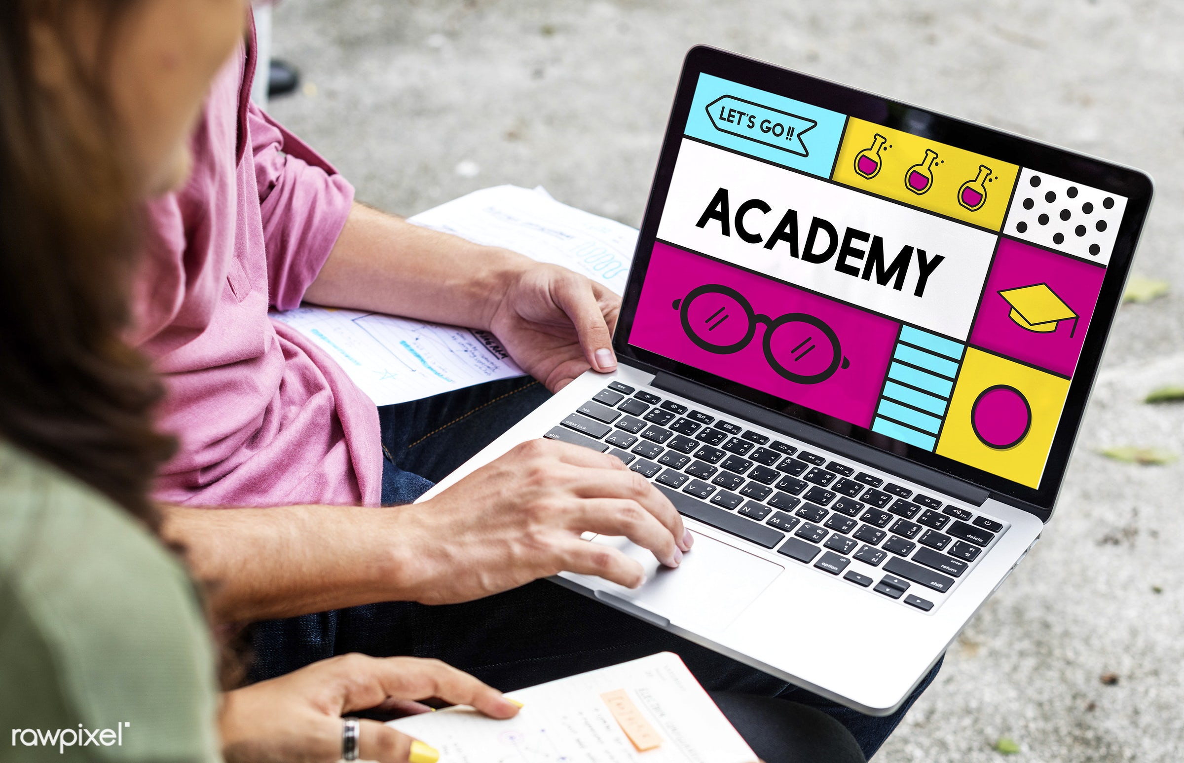 academics, academy, asian, browsing, caucasian, certification, coaching, curriculum, devices, diversity, e-learning,...