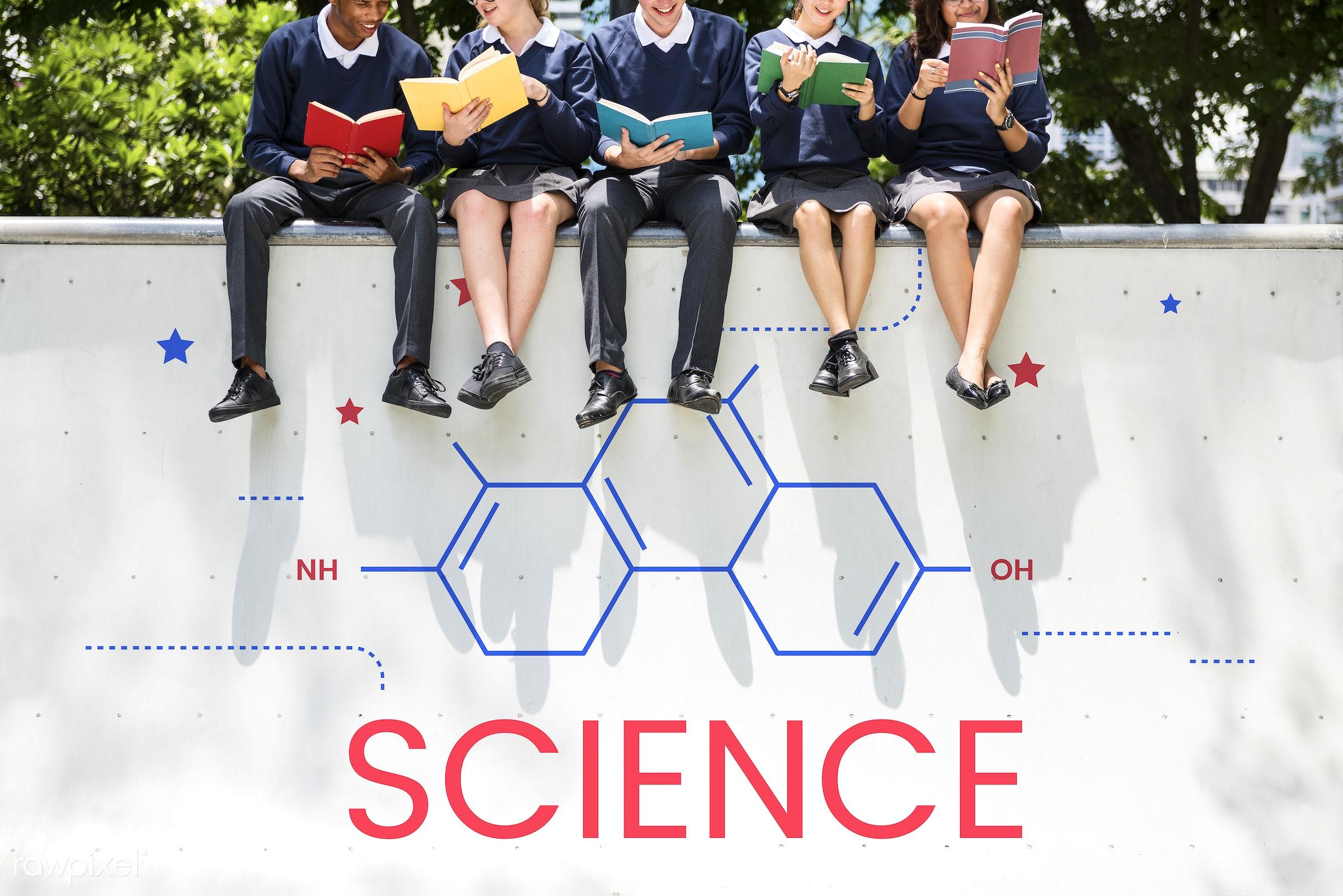 biology, books, chemistry, class, college, discipline, diversity, education, experiment, friends, friendship, high school,...