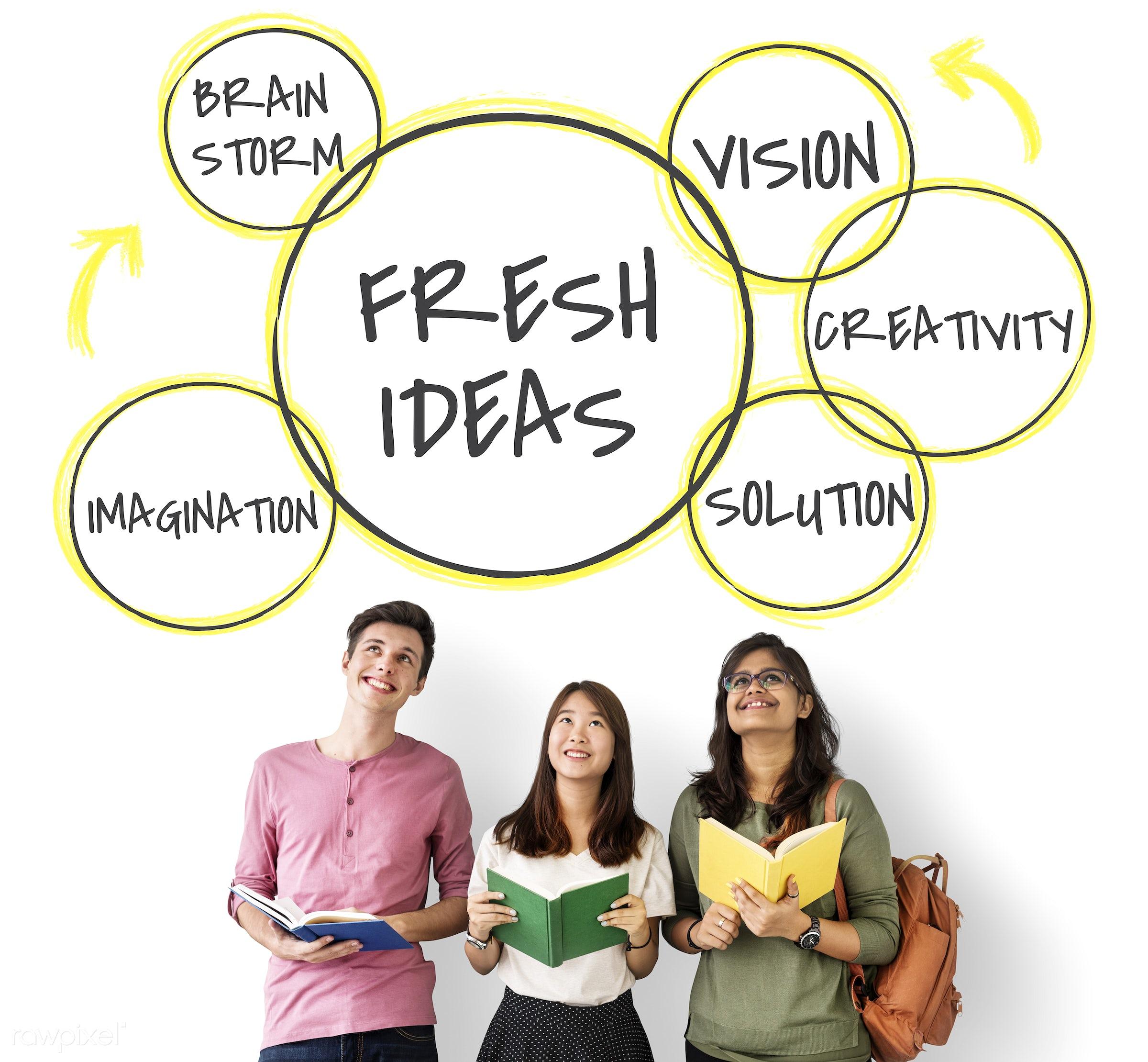 african descent, asian, book, brainstorm, business, caucasian, creative, development, diagram, diversity, enjoyment,...