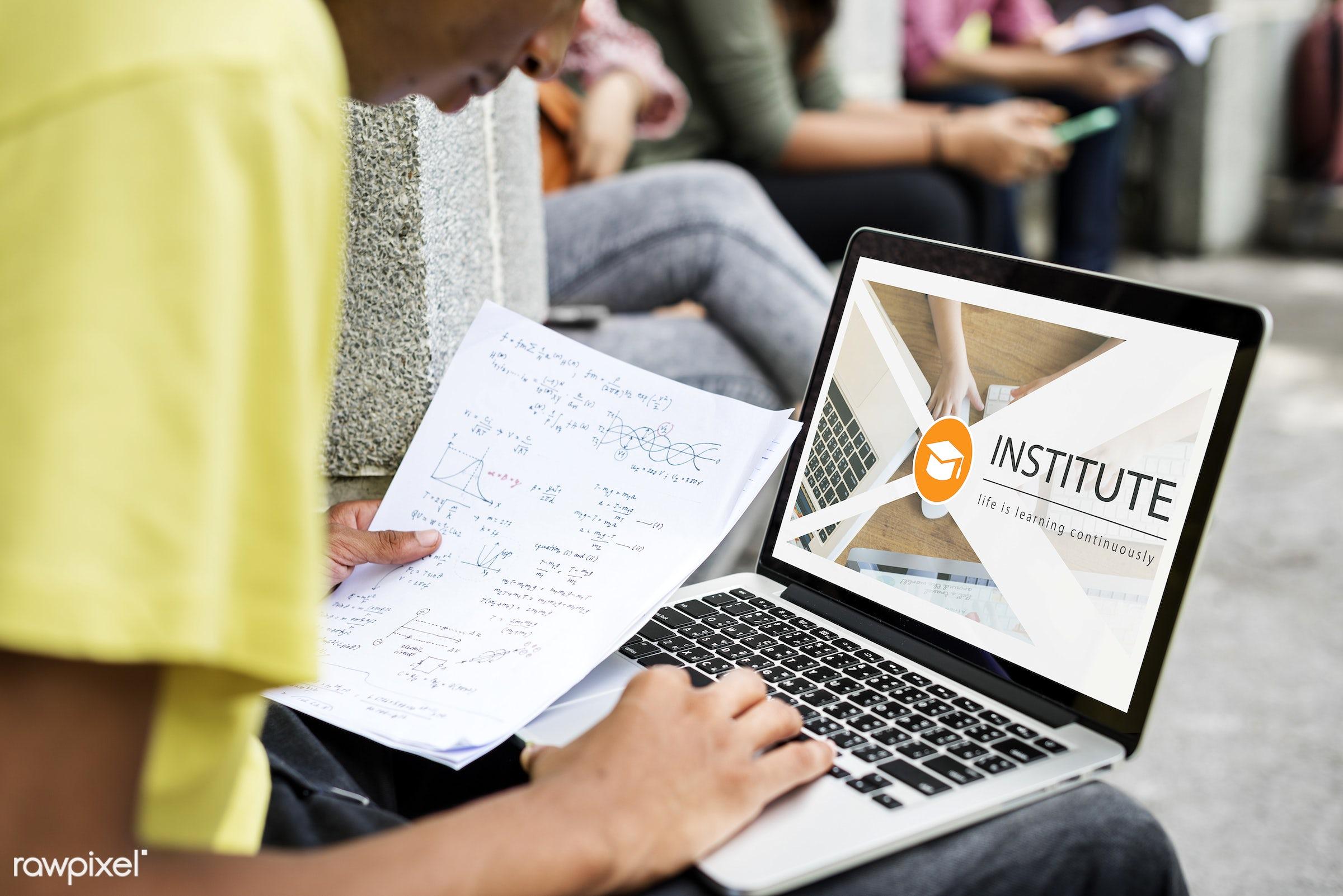 academics, boy, calculation, certification, class, course, curriculum, digital device, diploma, distance, e-learning,...