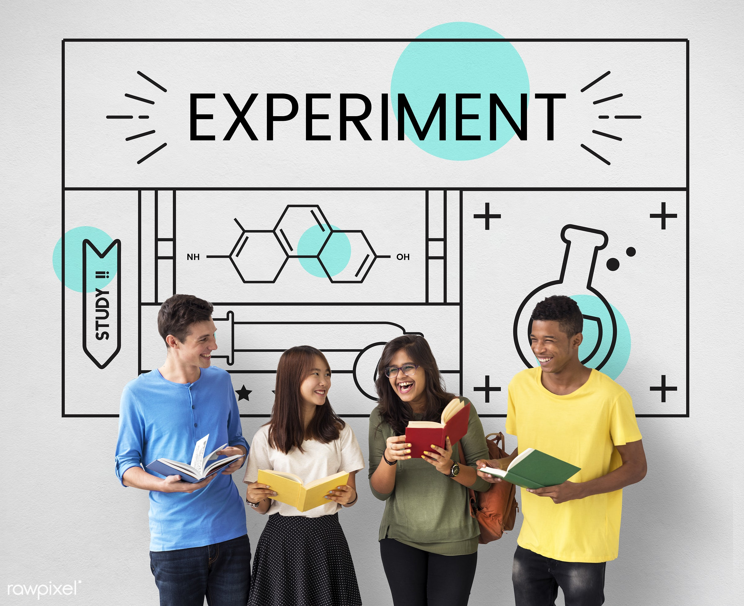 african descent, asian, book, caucasian, chemical, chemistry, diversity, education, enjoyment, experiment, formula, friends...