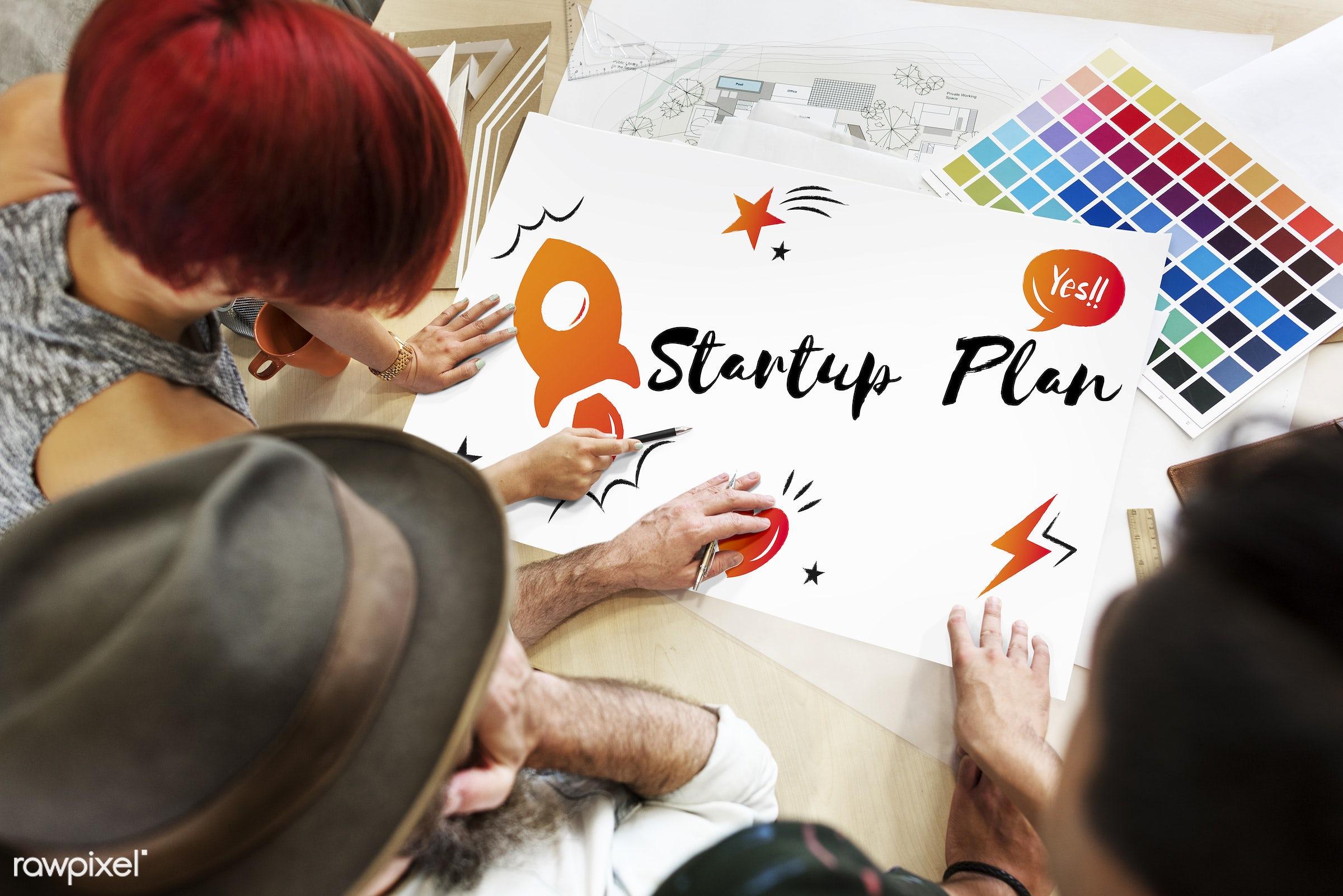 art, aspirations, business, business plan, color chart, colors, creative, design, development, discussion, enterprise,...