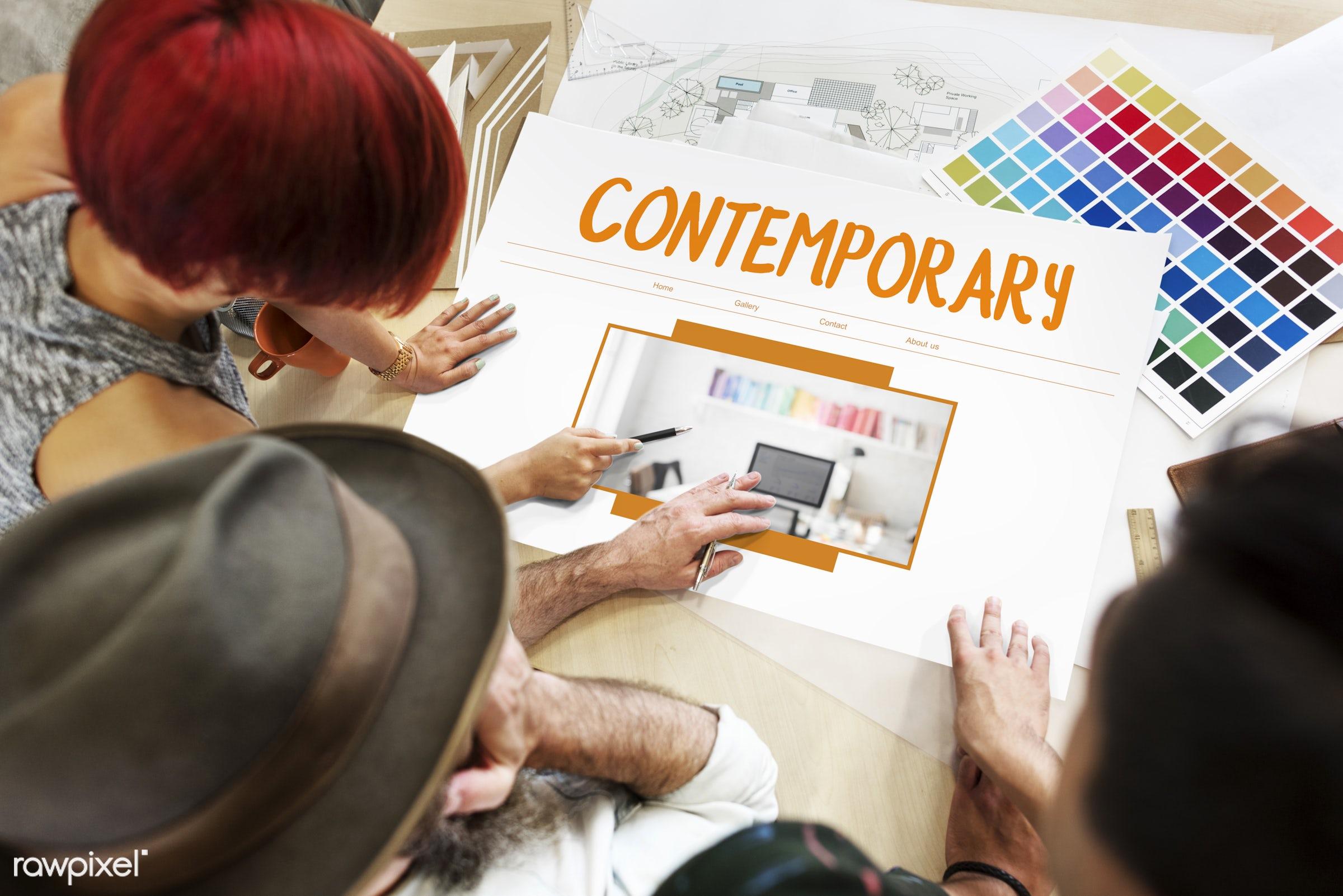 contemporary, architect, architecture, art, building, color chart, colors, construction, creative, decor, decoration, design...