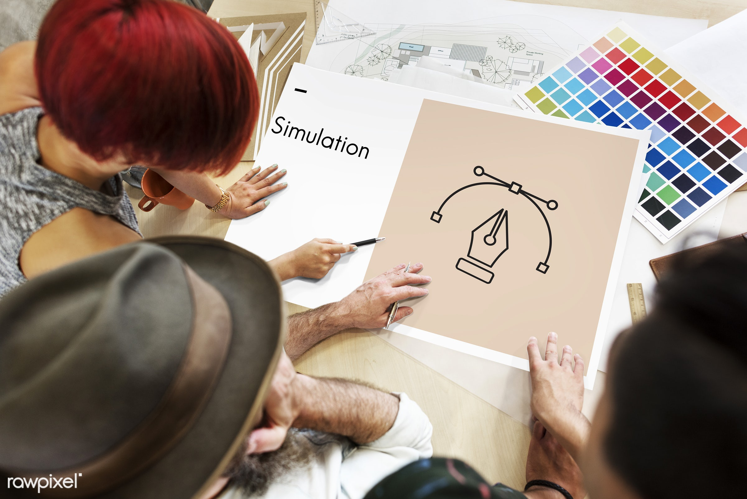 contemporary, art, color chart, colors, composition, configuration, content, creative, design, discussion, draft, drawing,...