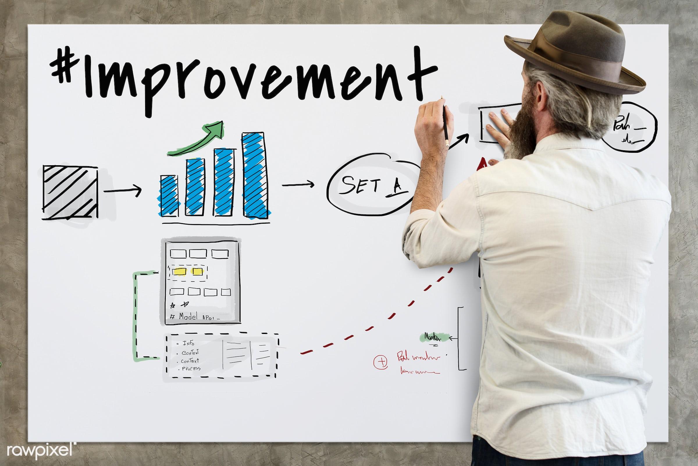 hat, adult, alone, analysis, back, be creative, beard, beard guy, board, business, carefree, casual, chart, chill, company,...