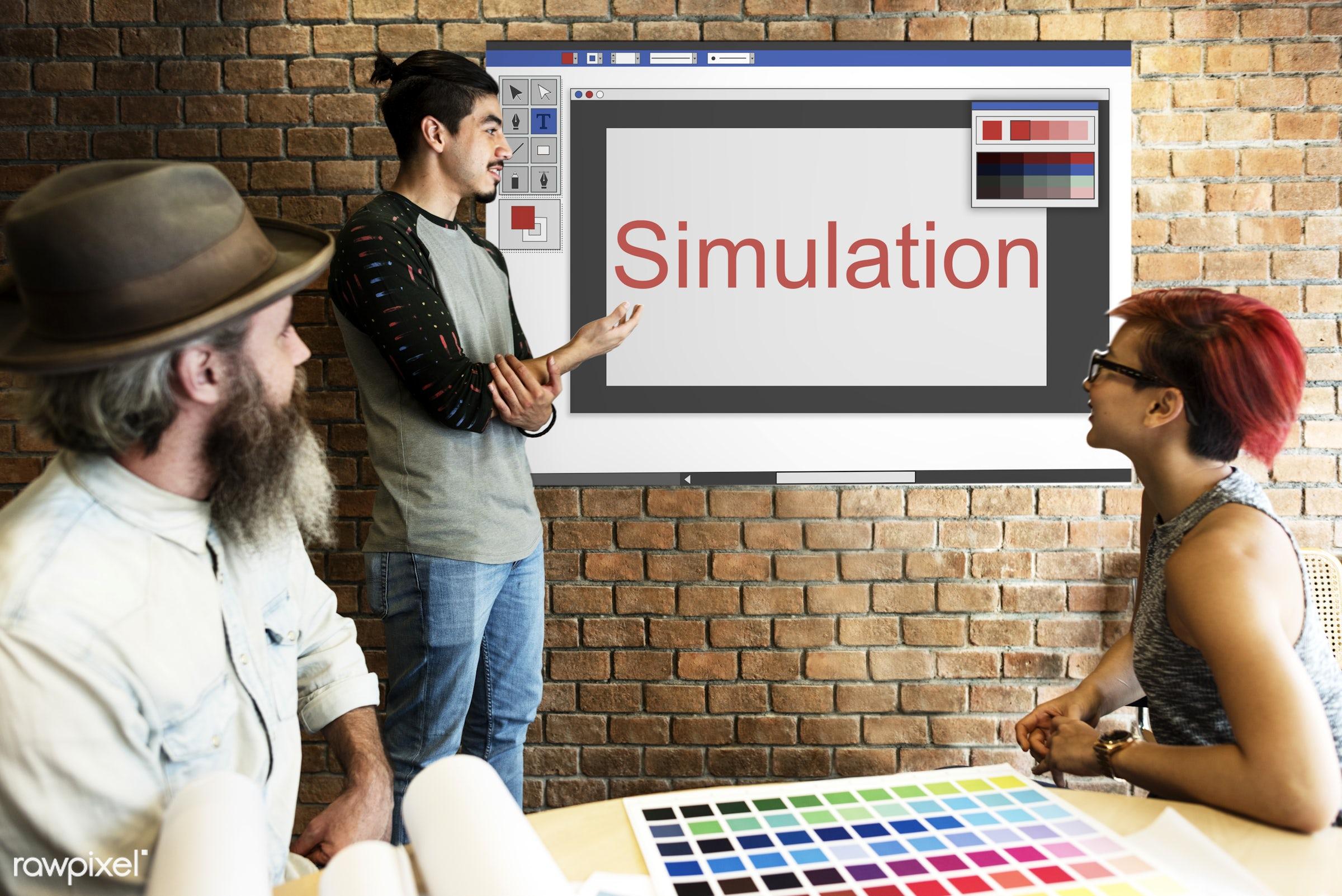 art, beard, board, brick wall, business, chart, cloud, color chart, colors, communication, composition, configuration,...