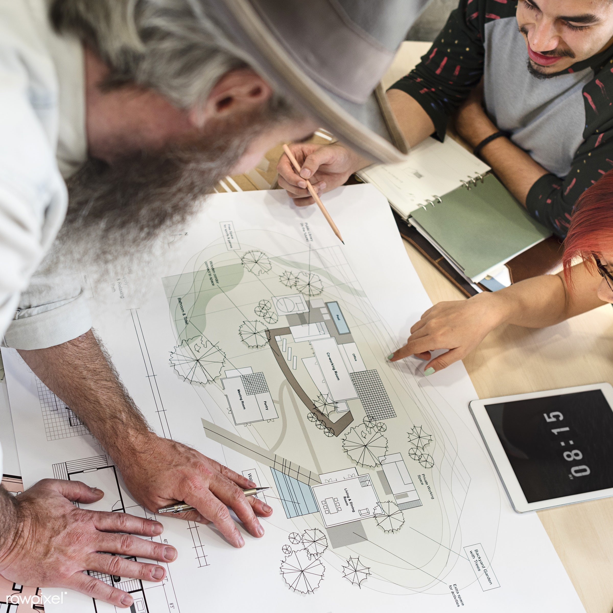 architect, architecture, assistance, blueprint, brainstorming, communication, connection, creative occupation, creativity,...