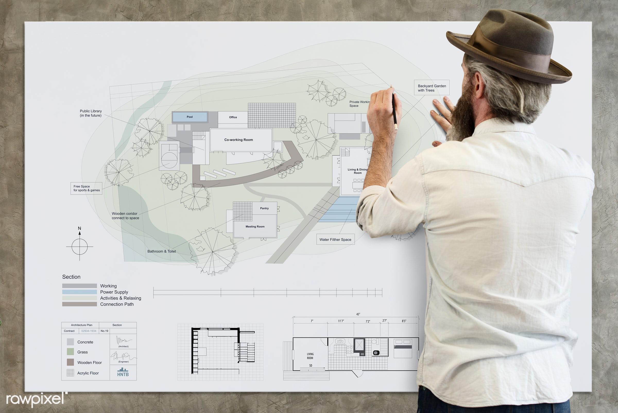 architect, architecture, banner, blueprint, brainstorming, creative occupation, creativity, design, design studio, designer...