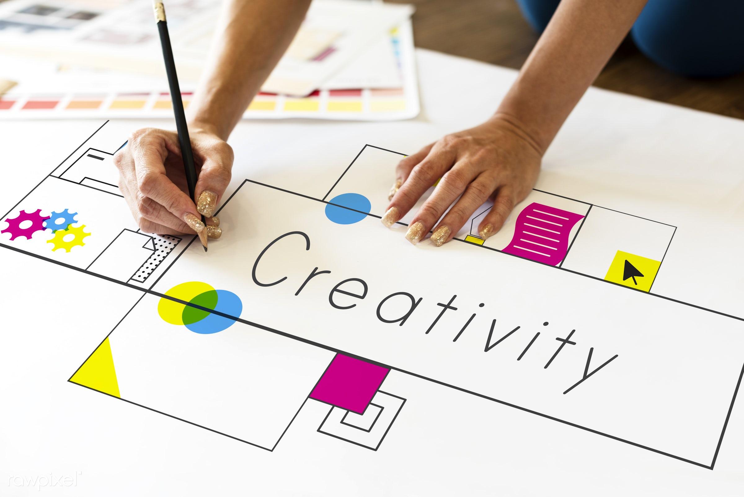 art, cmyk, creation, creative, creativity, design, drawing, graphic, hands, hobby, ideas, imagination, innovation,...