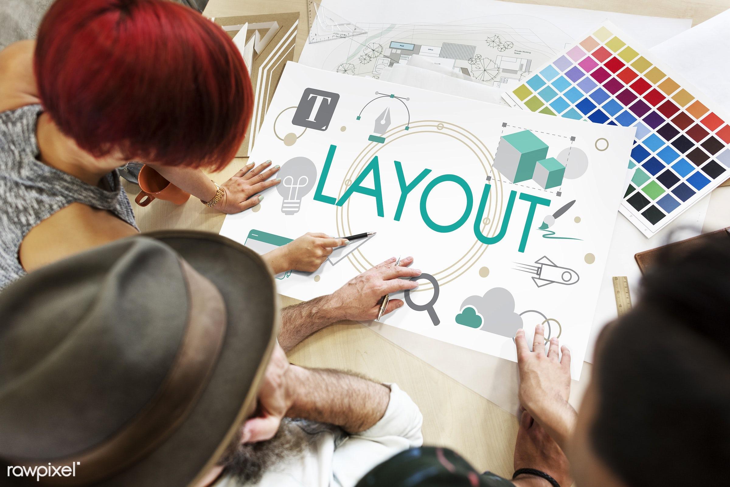 art, browser, color chart, colors, composition, computer, design, designer, discussion, female, graphic, hands, html, ideas...