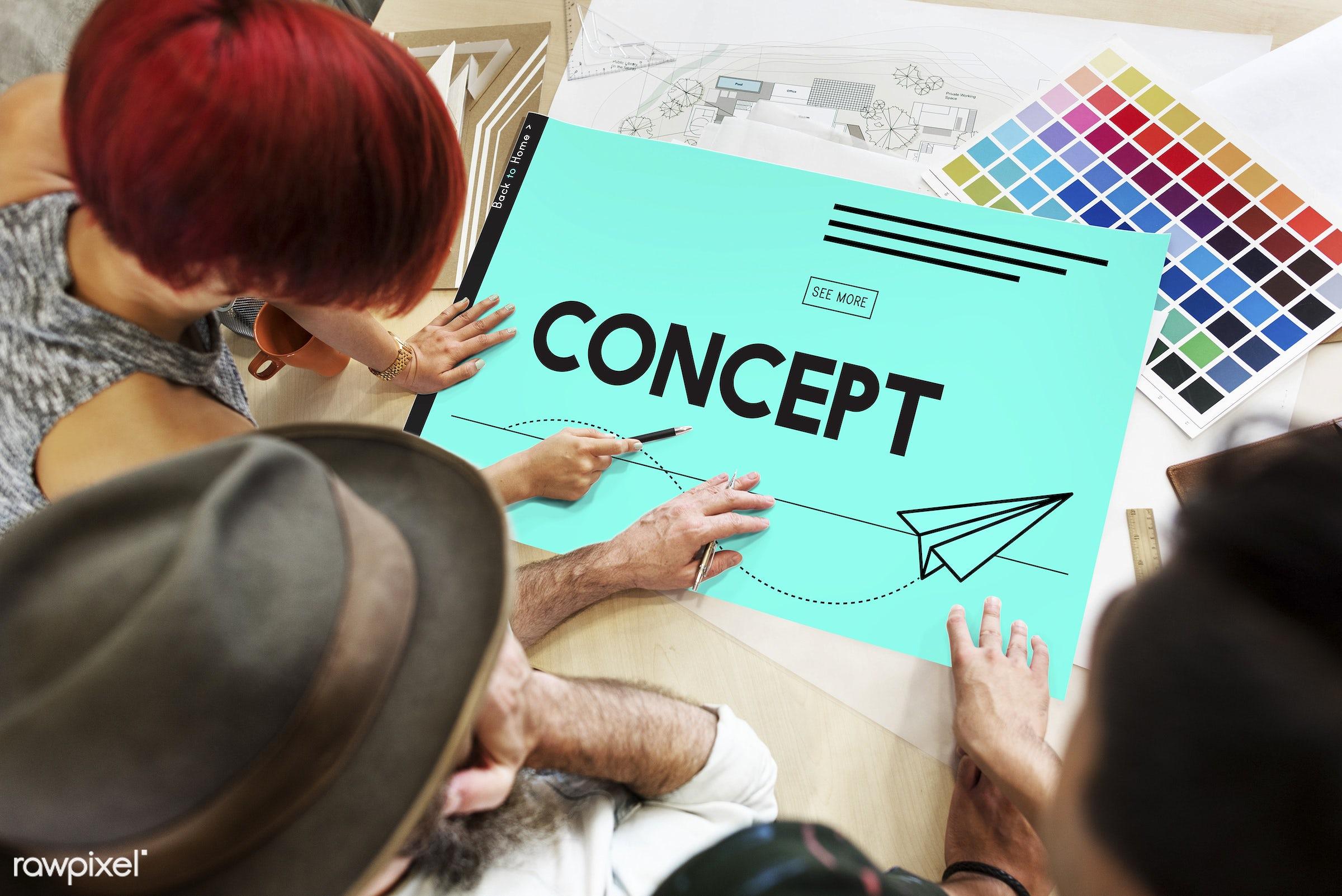 aeroplane, art, color chart, colors, concept, creative, creativity, design, digital, digital design, discussion, female,...