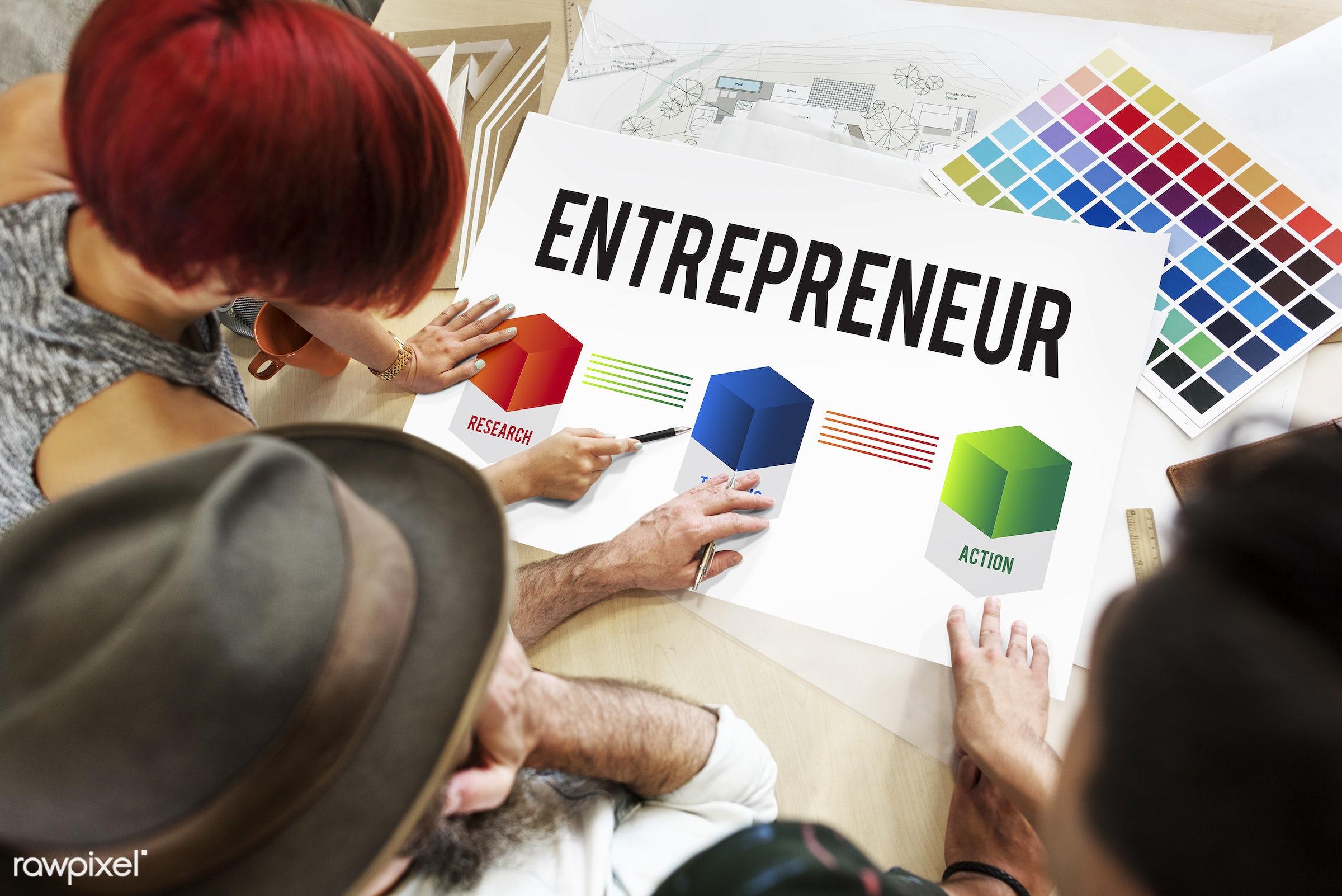 development, action, analysis, art, business, color chart, colors, data, design, discussion, entrepreneur, female, graphics...