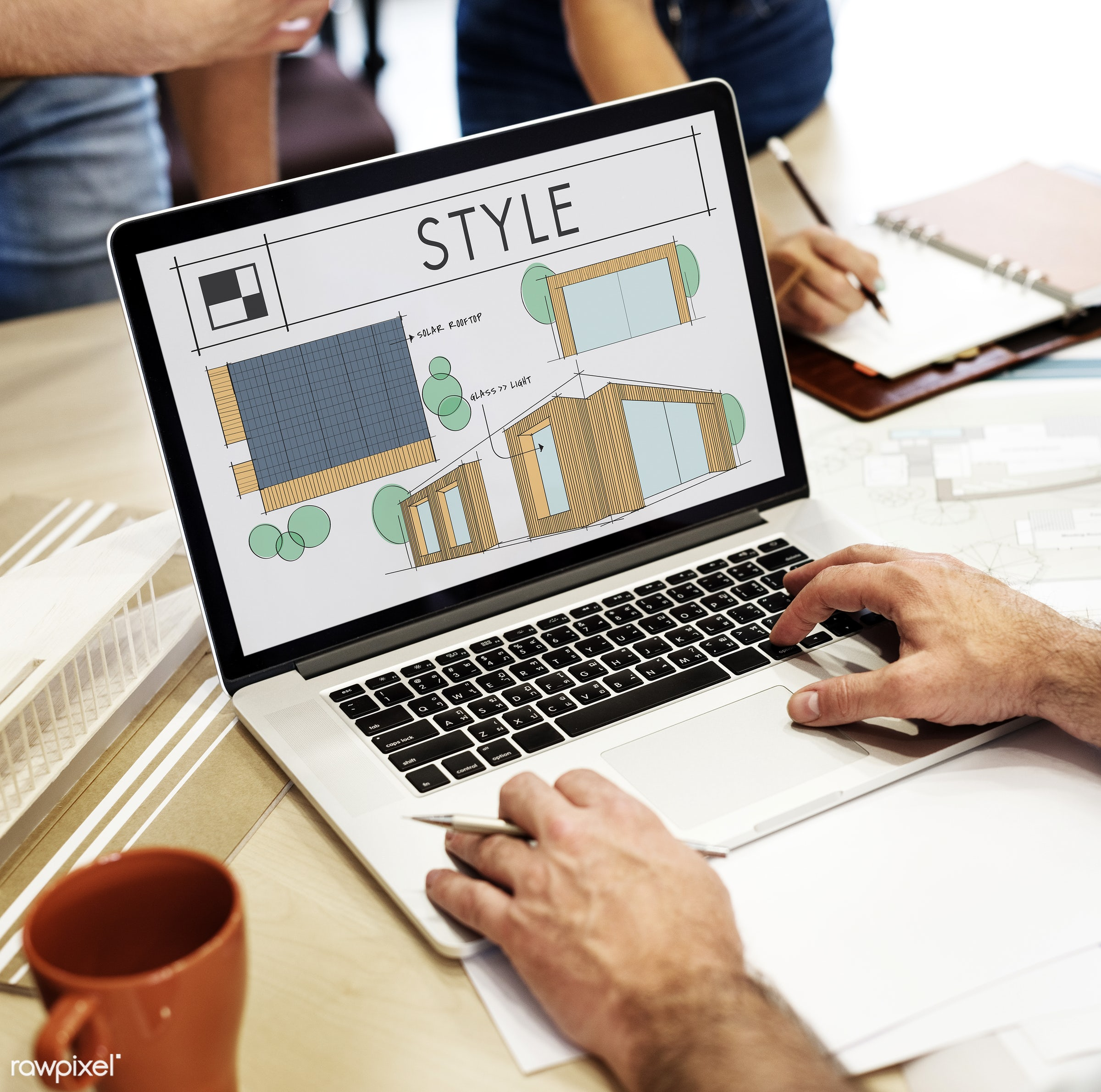 architect, architecture, art, blueprint, building, coffee, coffee cup, contemporary, creative, cup, decor, decoration,...