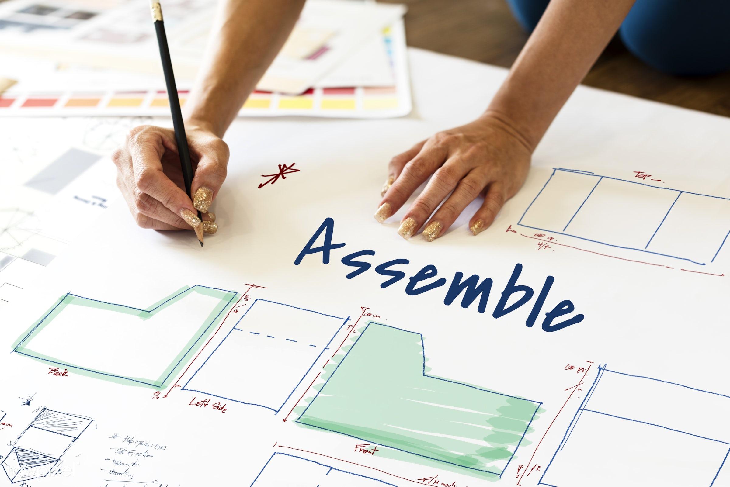 art, assemble, assembly line, blue print, business, construction, create, creation, creative, creativity, design, diagram,...